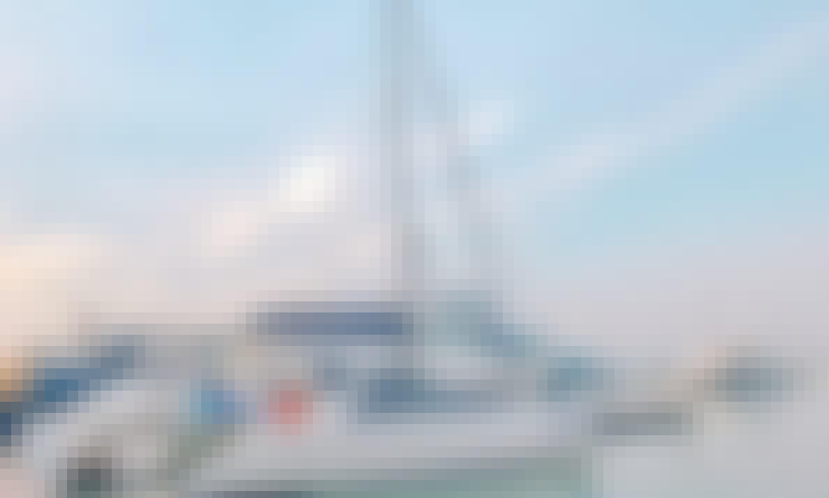 "Sailing Catamaran ""Keshi"" Ready to Tour at Patttaya, Thailand!"