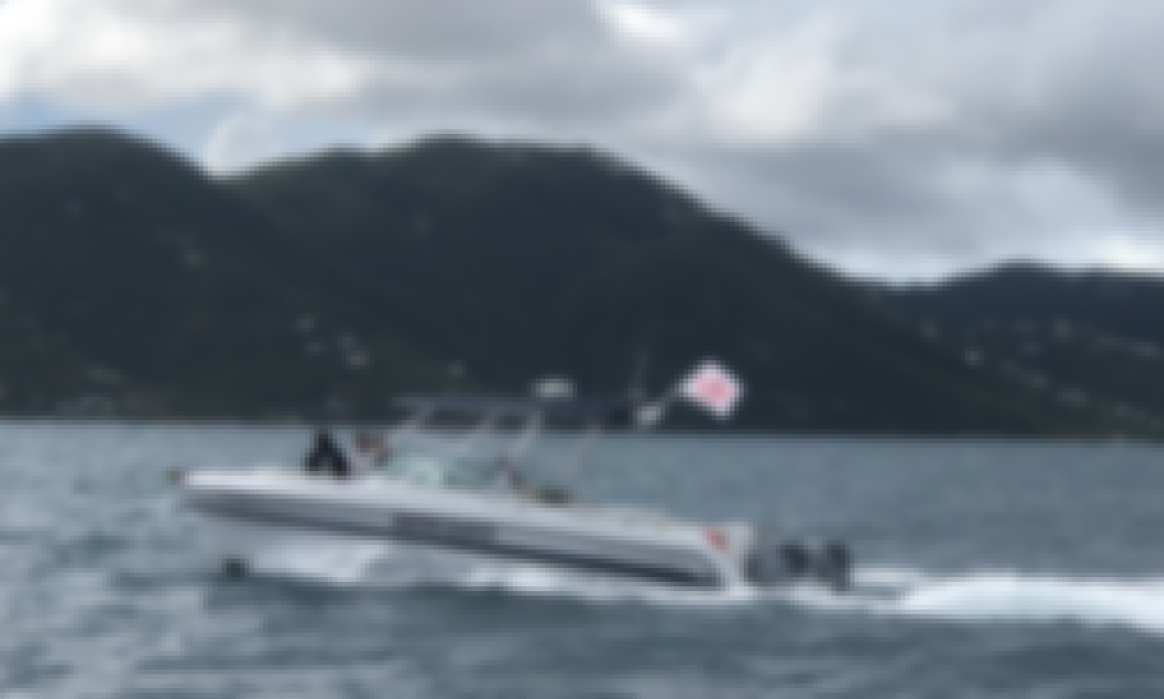 Reserve the Glacier Bay 2640 SX Power Catamaran in St. Thomas