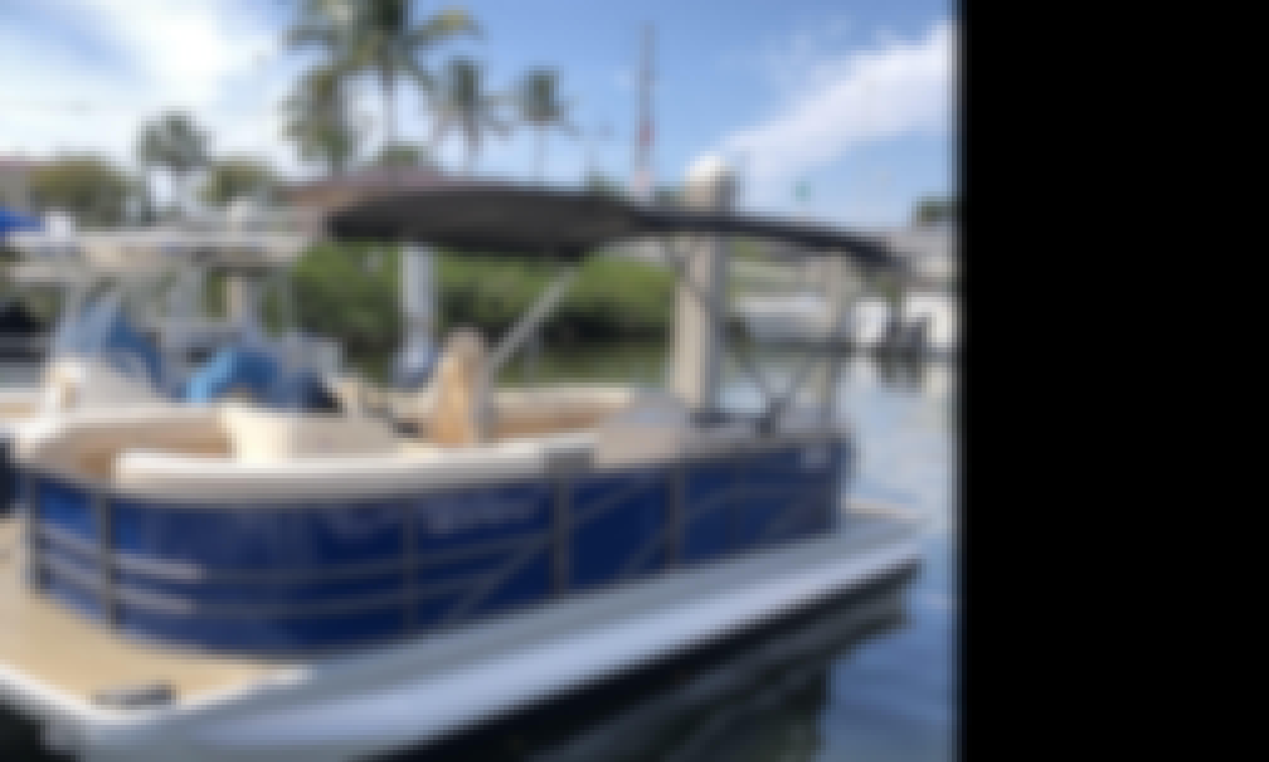 Book the Lexington Pontoon Boat in Naples, Florida