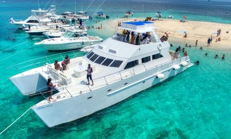Private Luxury Catamaran Sail Charter for Up to 120 Guests in Kingston, Jamaica