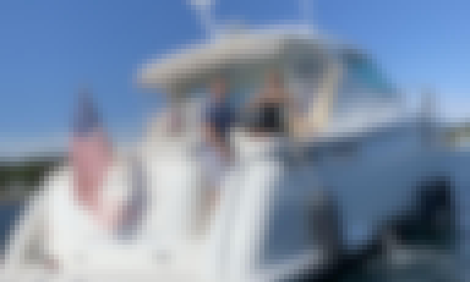 Come onboard the 45ft Tiara Sovran Motor Yacht Charter Keep'N It Reel