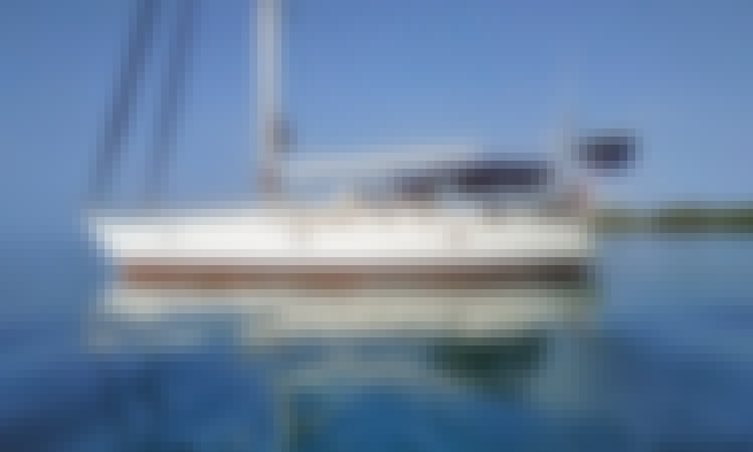 Experience 4-Hours Private Sunset Sailing with Jeanneau 45.2 Sailboat