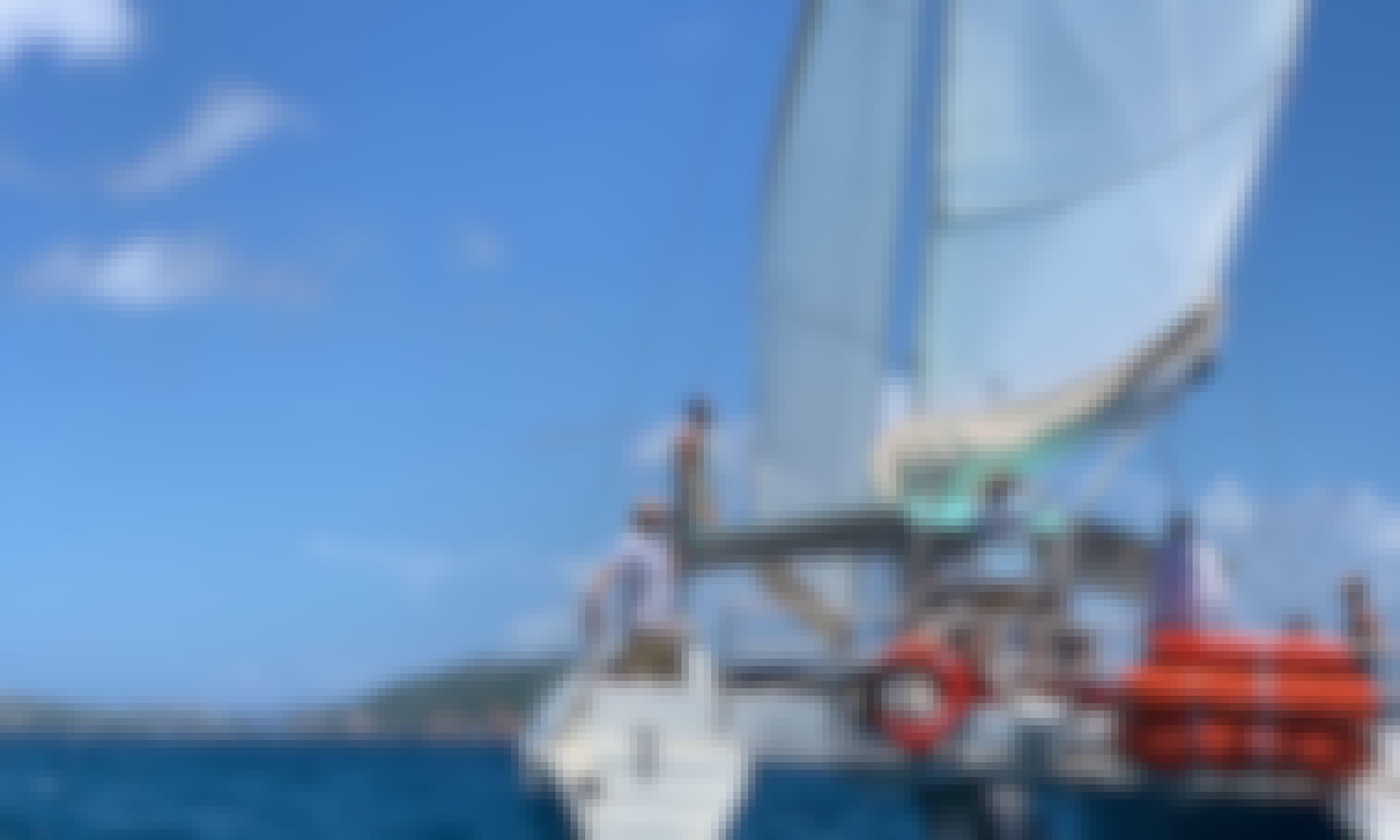 "40' Sailing ""Calypso"" Catamaran - Daily Sails in U.S. Virgin Islands"