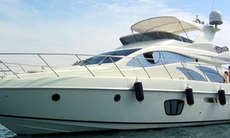 Private Yacht Charter Azimut 55 to Rosario Islands and Barú Islands