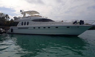 Private Viking 70 Luxury Motor Yacht to Rosario Islands and Barú