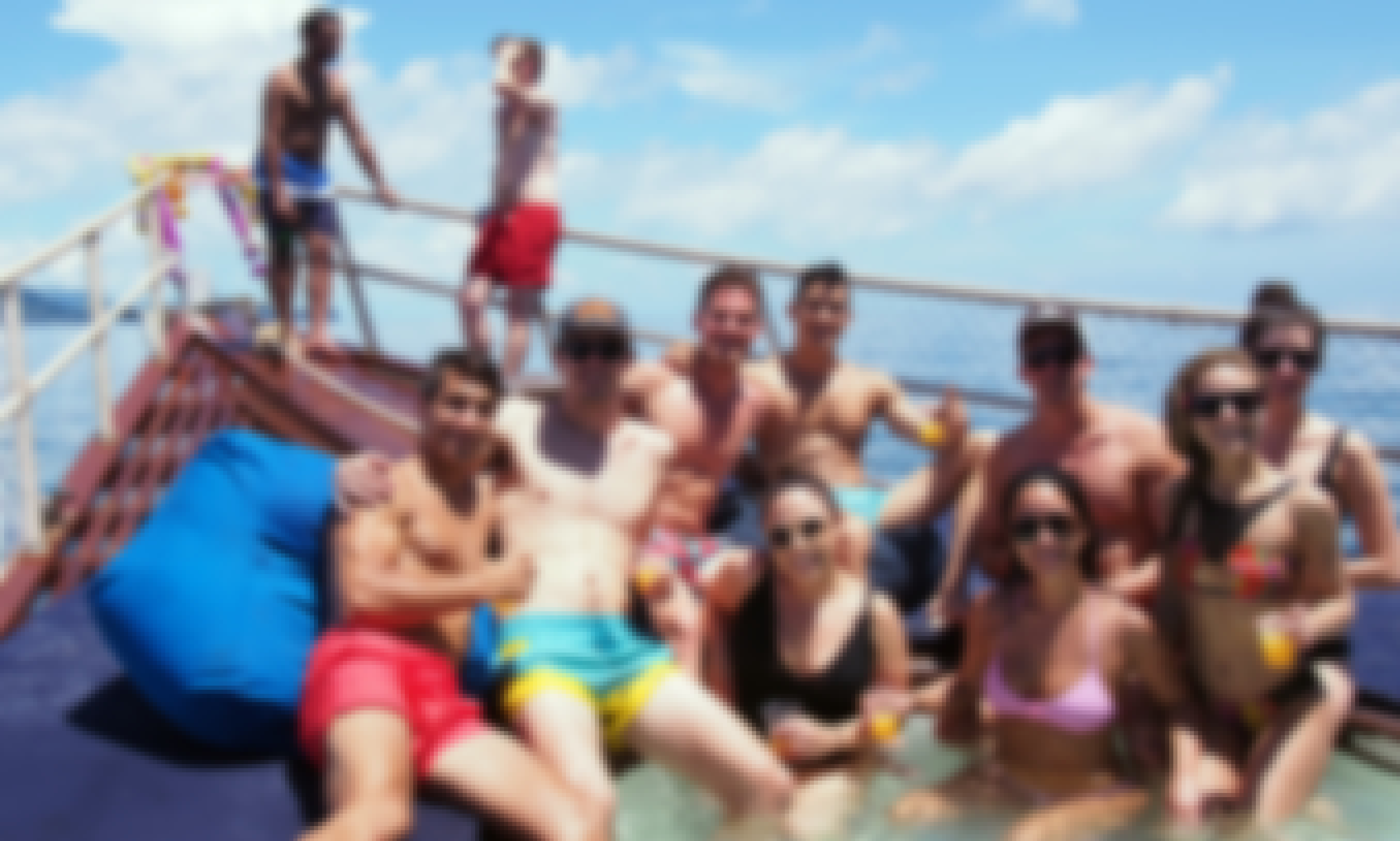 PRIVATE TOUR - Red Dragon Classic Thai Yacht to Ang Thong Marine Park