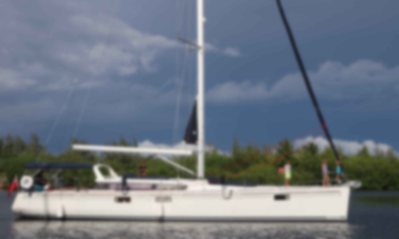 Luxury Beneteau Sense 55 Sailing Yacht Rental in George Town, Cayman Islands