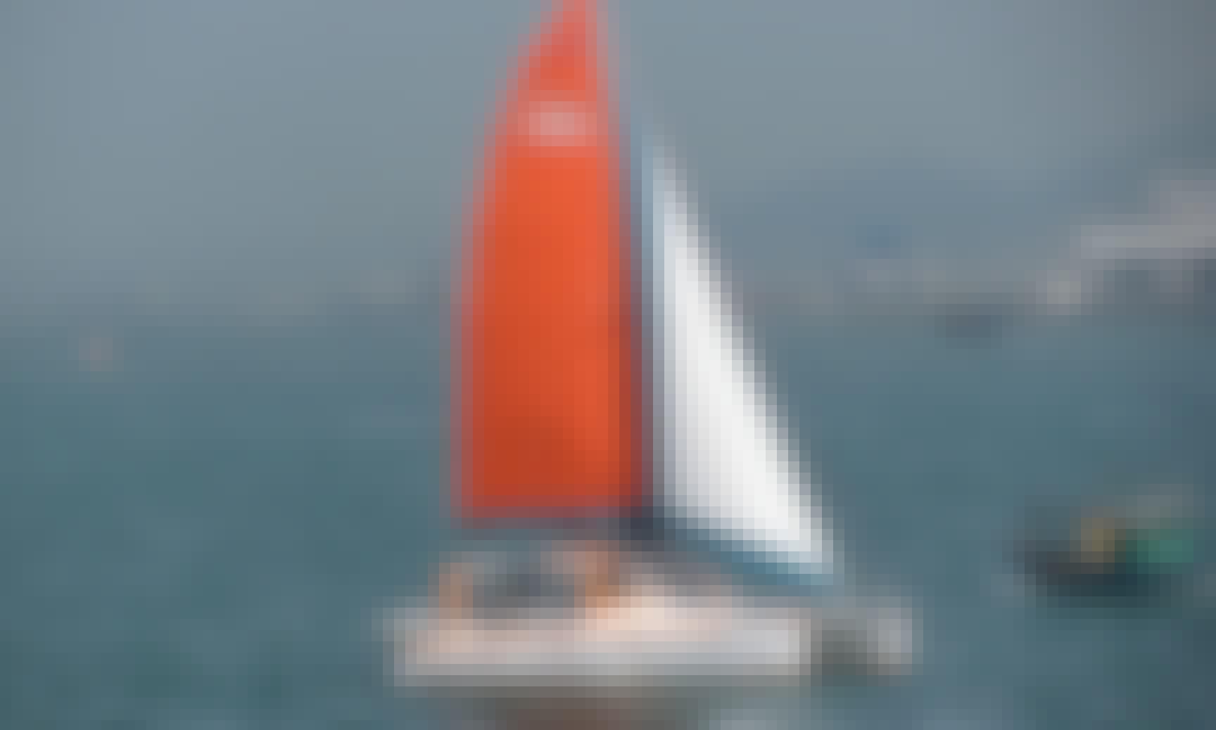 Scape 39 Sailing Catamaran Rental in Honolulu, Hawaii