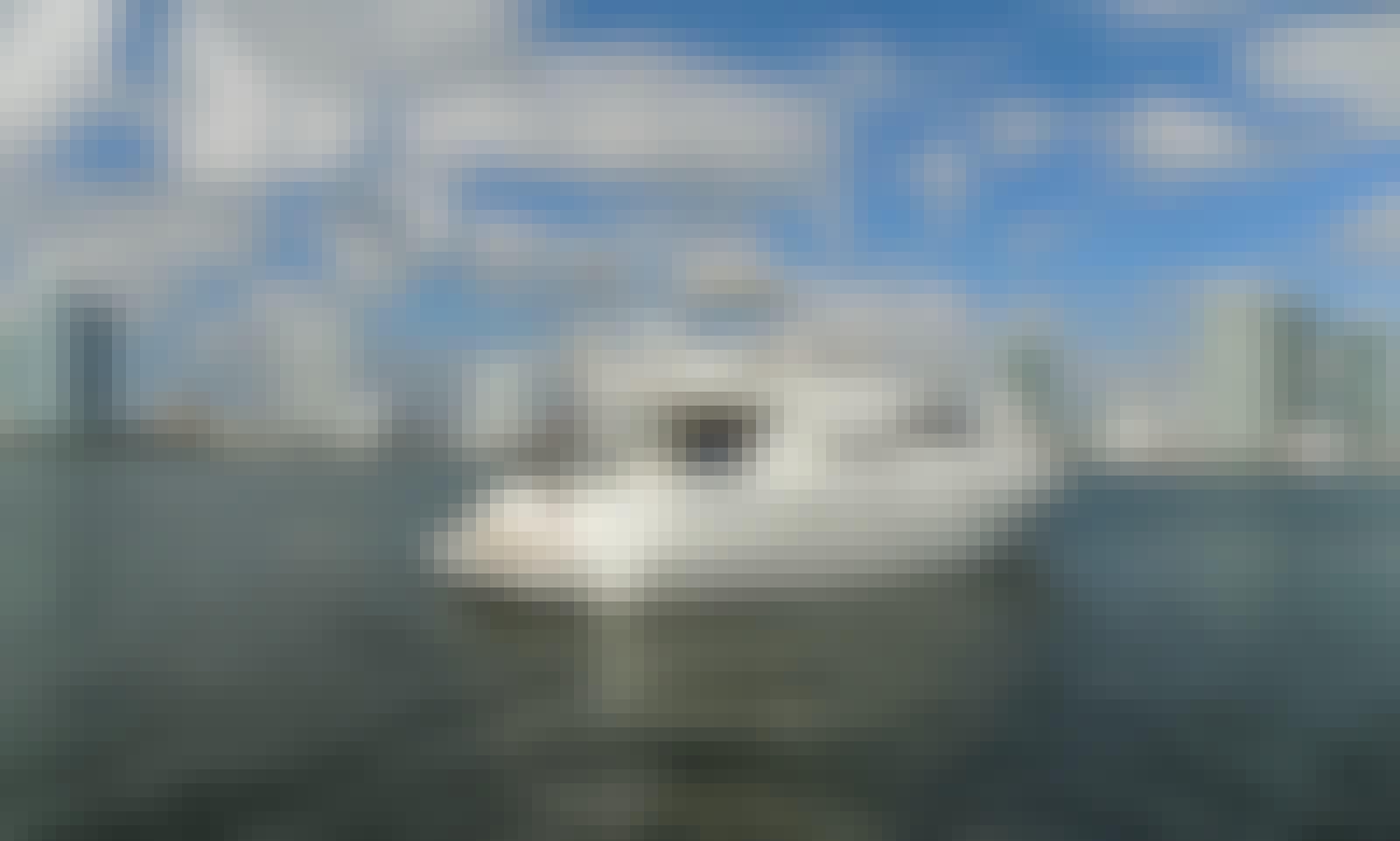 50' Cranchi Motor Yacht Rental in Miami, Florida