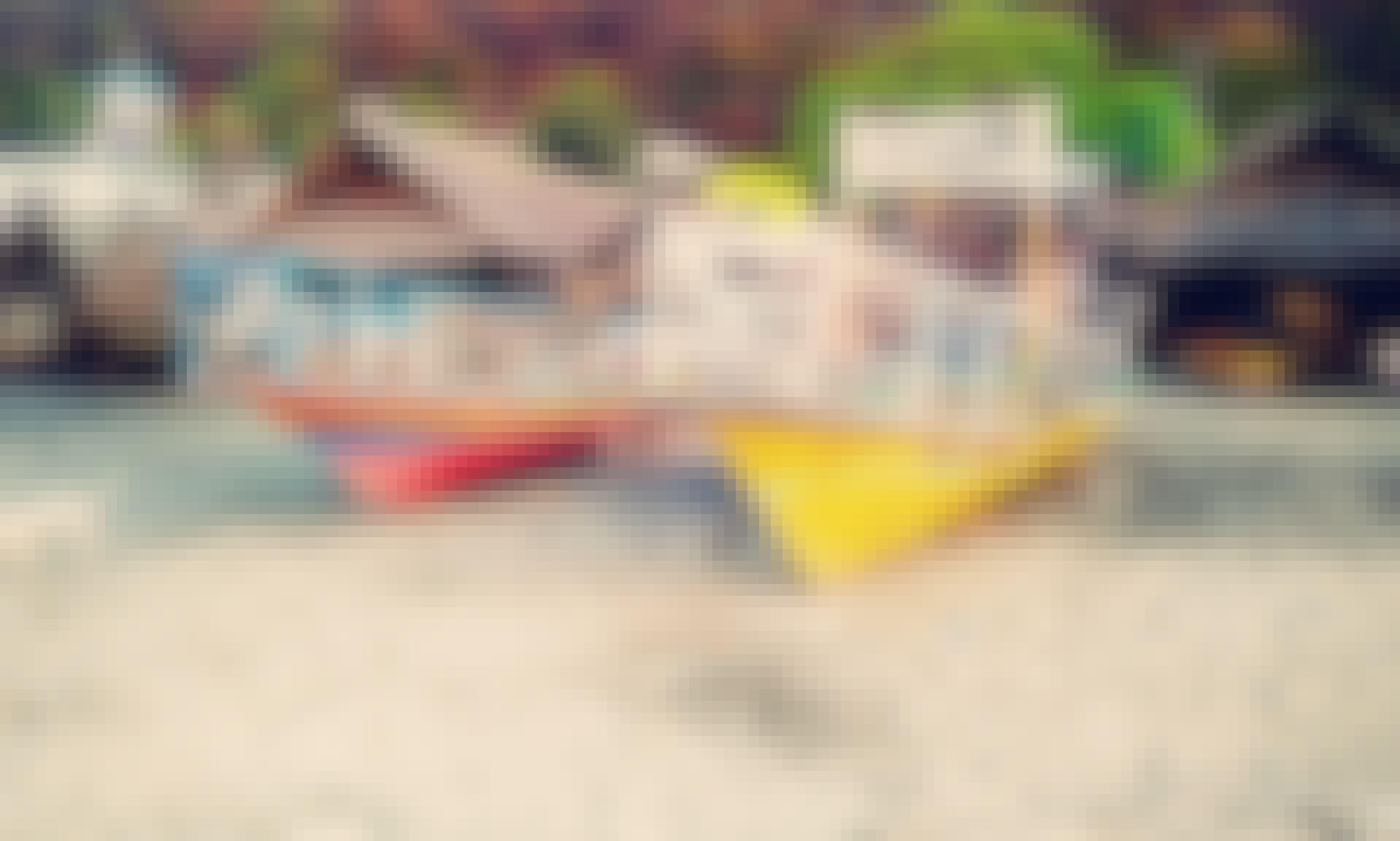 Traditional Boat for Fishing in Wulandoni, Nusa Tenggara Timur