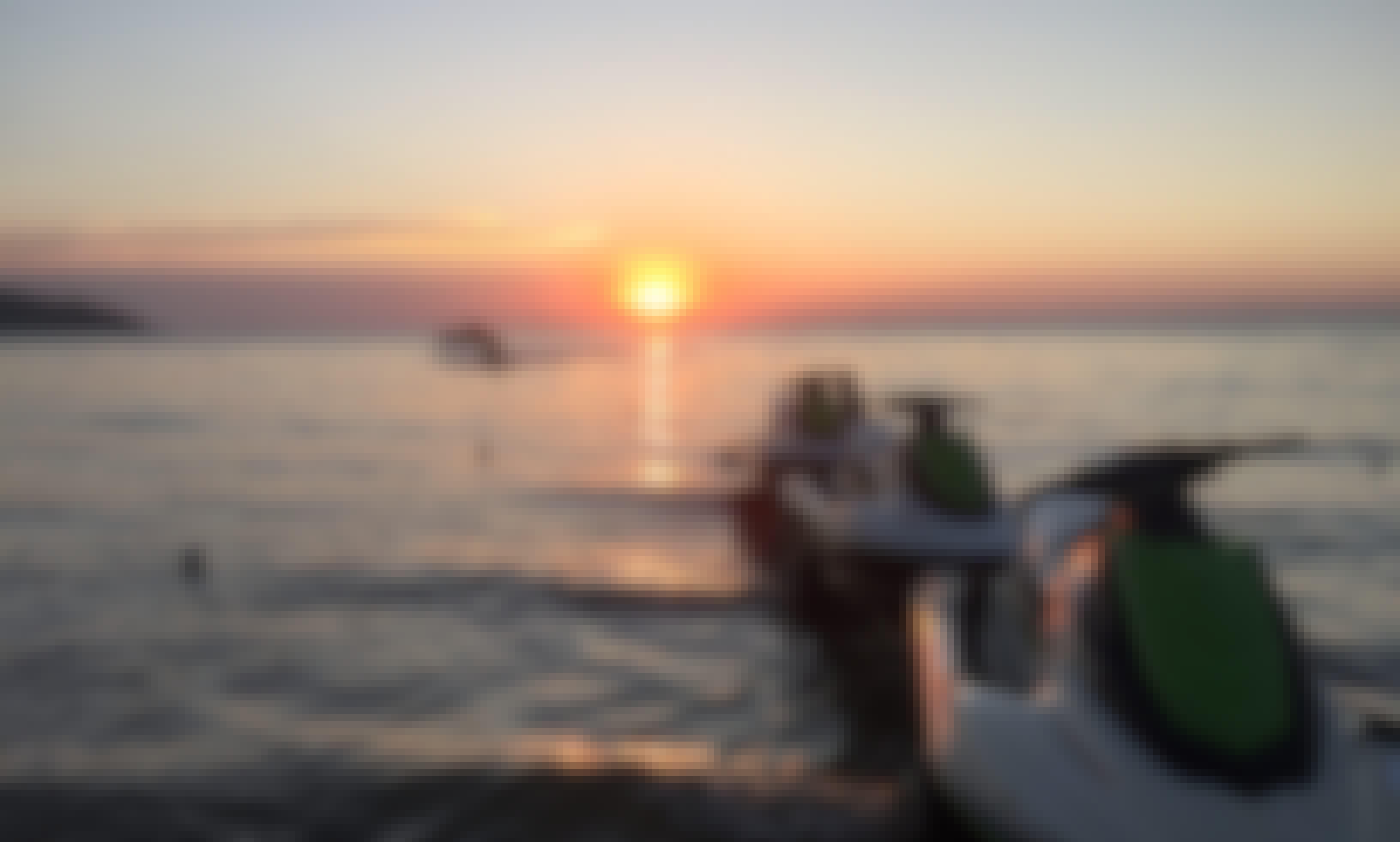 Sunset Photography by Jetski Lipa Noi Beach Koh Samui Thailand