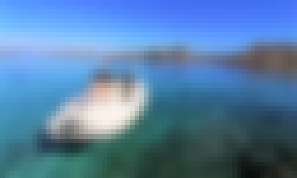 Rigid inflatable boat with skipper for rent in La Maddalena and Costa Smeralda