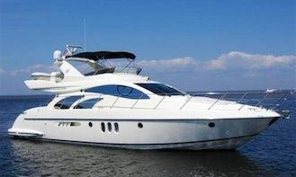 Luxury Azimut 58 Motor Yacht in Puerto Vallarta, Jalisco