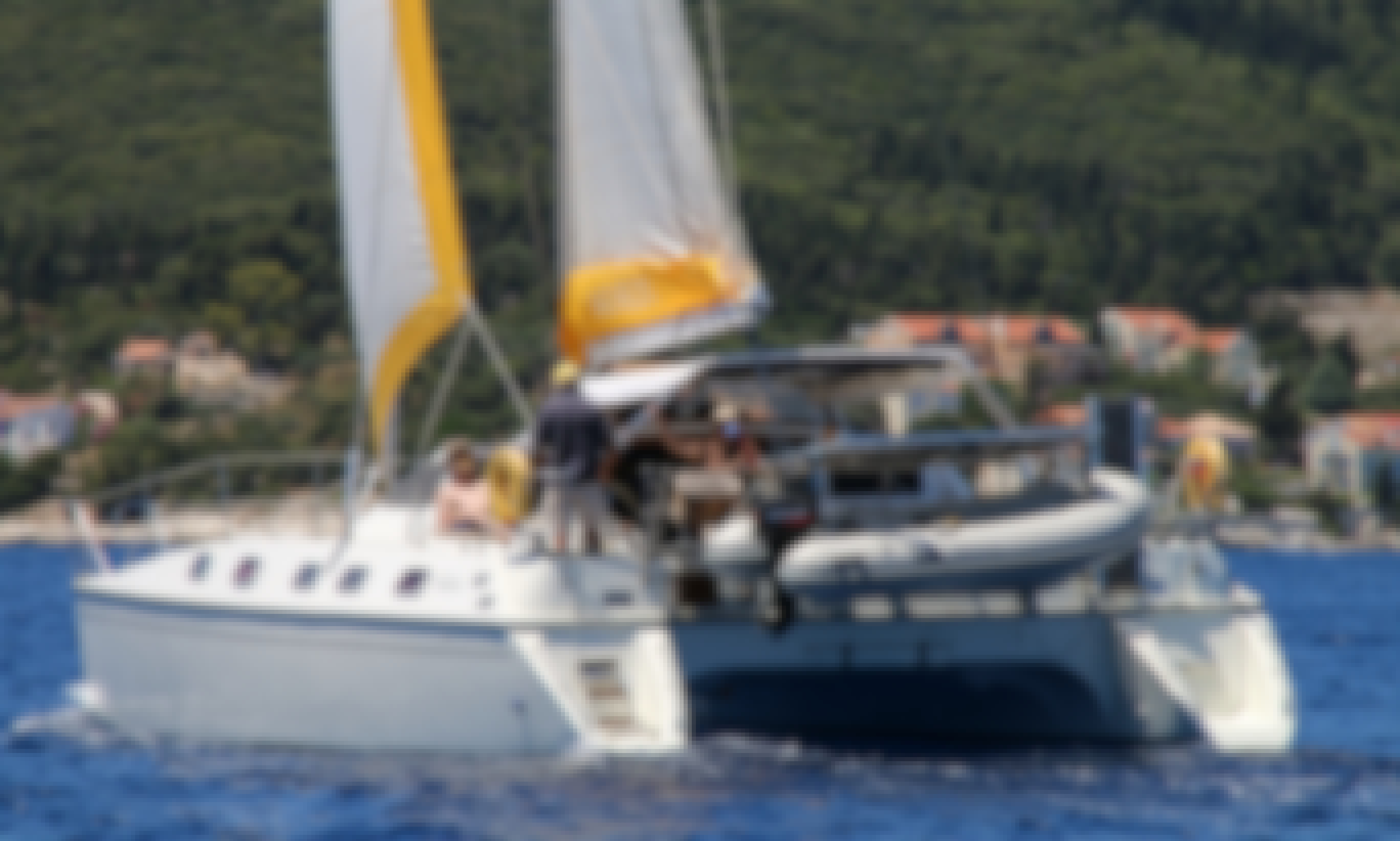 Relax on a Catamaran around Ionian Islands with skipper+crew/cook onboard - Flexibile dates