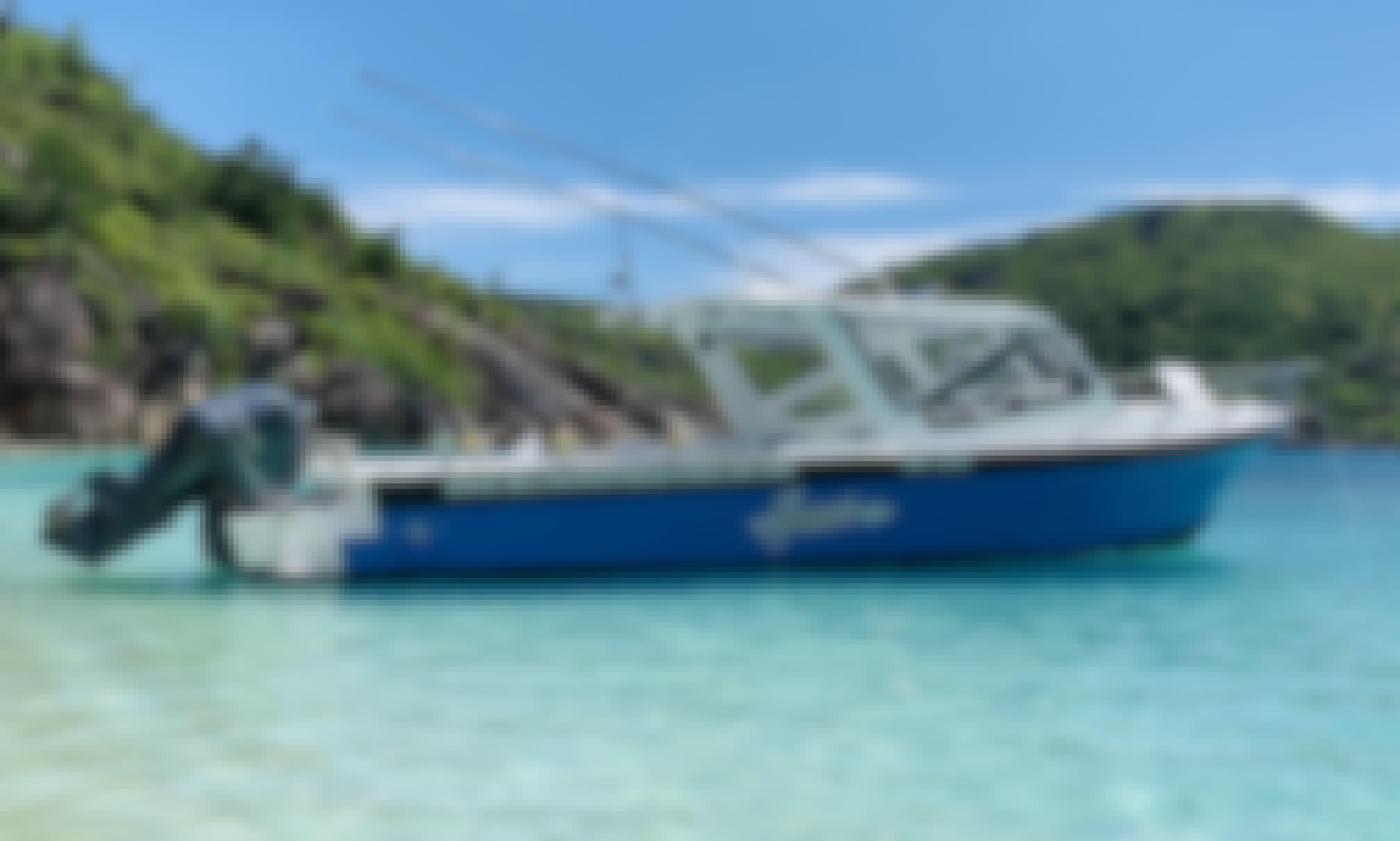 Fishing Charter Aboard a Bertram Sportsfishing Boat in Seychelles