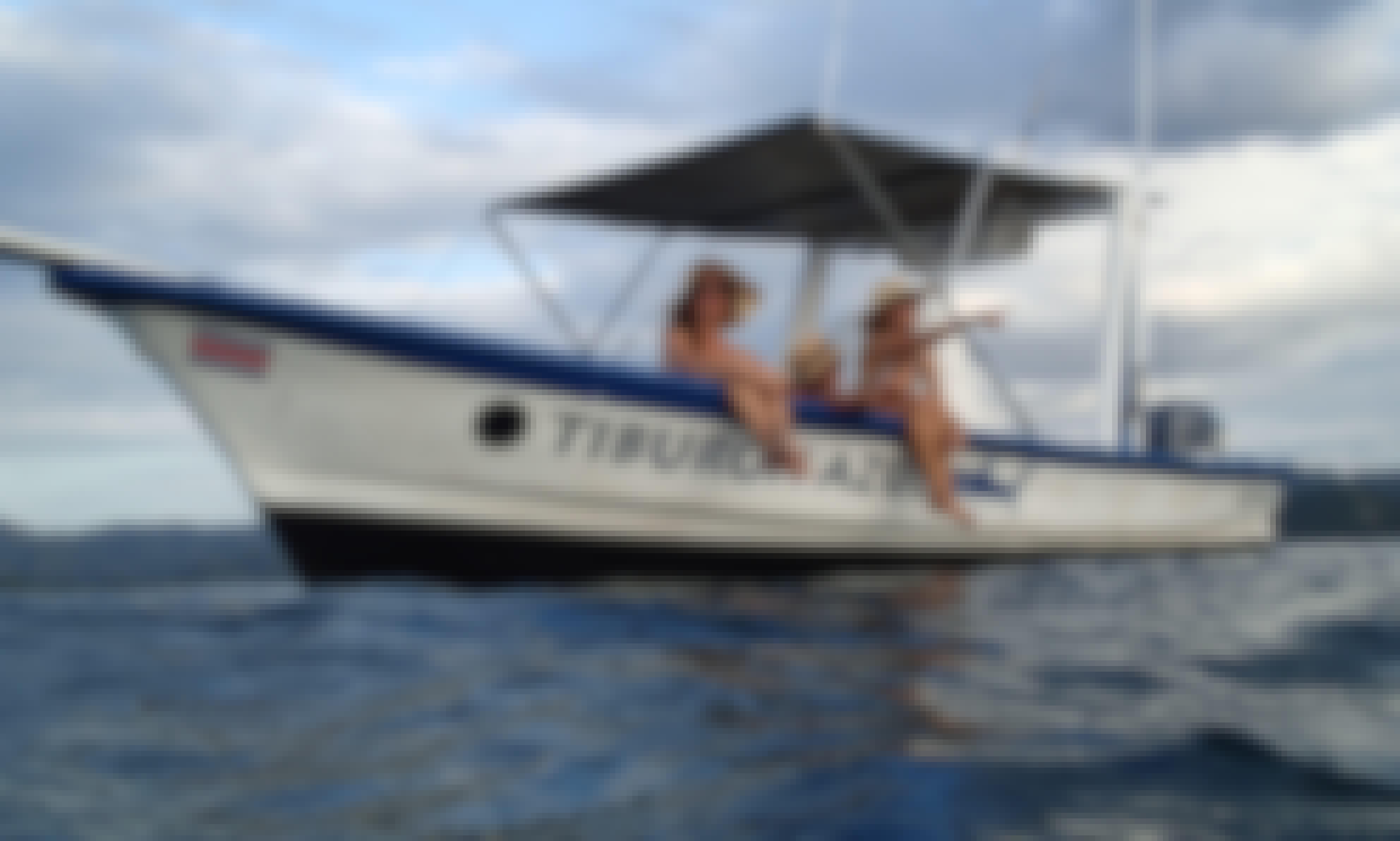Fishing Boat for 6 People in Playa Flamingo, Provincia de Guanacaste!