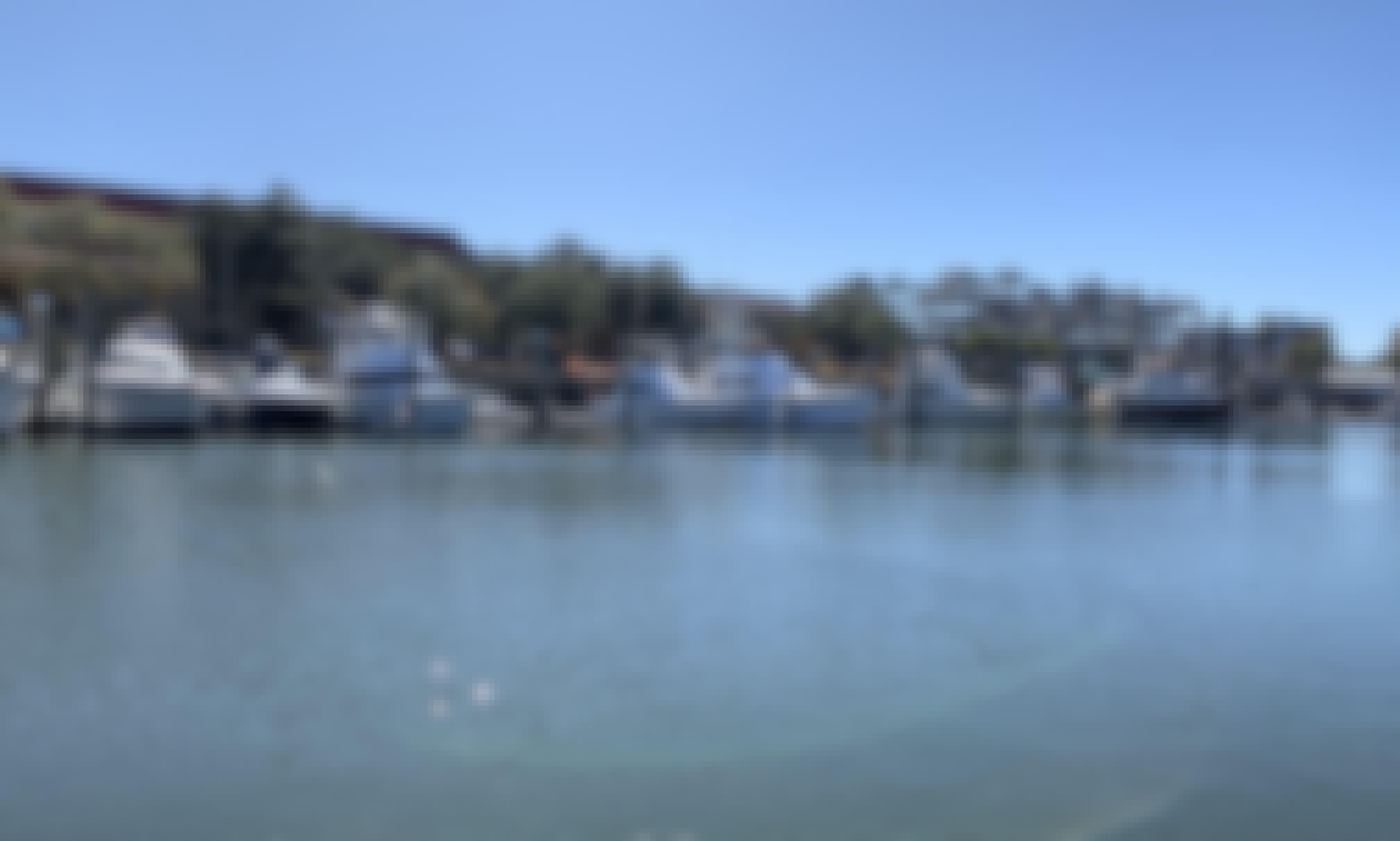 "46' Ocean Yacht ""Fish Asylum"" Luxury Harbor Tours in Charelston, SC"