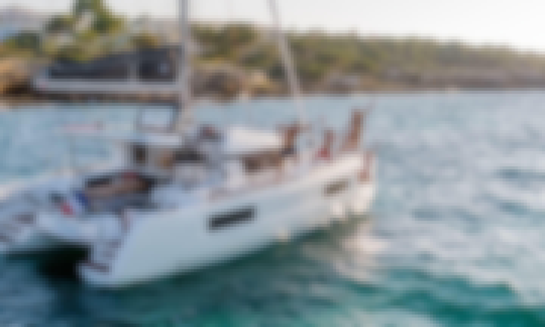 "Charter this Lagoon 40 ""Chios"" in Marina Gouvia"