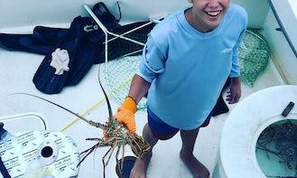 Lobster Charters for 6 People in Islamorada