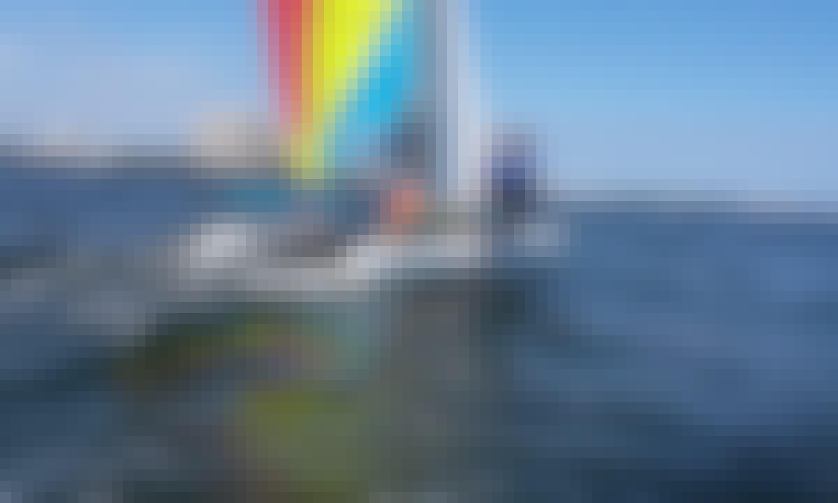 Miami Sailing Adventure on a Hobie Catamaran