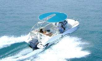 21' Aquamarine power boat - 9,980 THB - Best Value! Pattaya, Thailand.