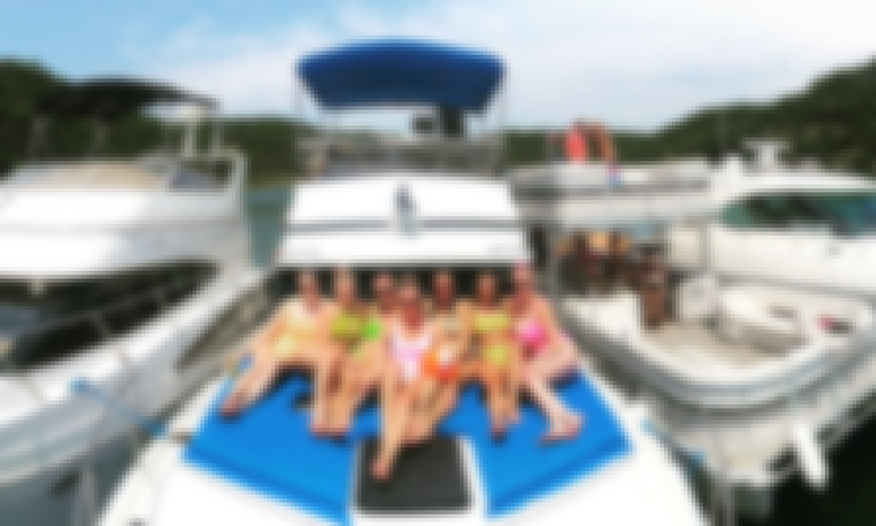 Explore Austin, Texas Aboard a Party Motor Yacht for Up to 20 People