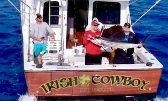40' Luhrs Center Console Rental in Key West, Florida