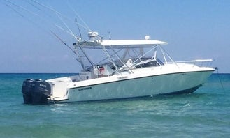 Book the 37ft Hook'em Cowgirl Contender Center Console in Key West, Florida