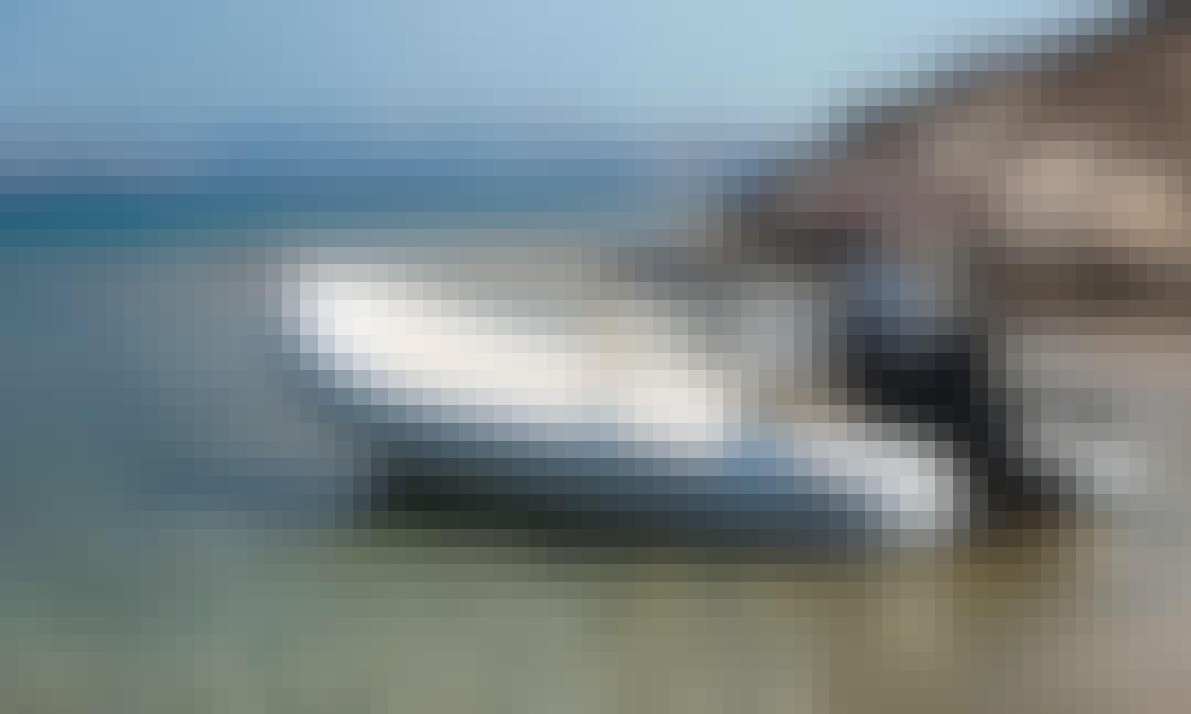 Luxury Cruise Aboard a 15 ft Oceanic RIB at Milos Island, Cyclades