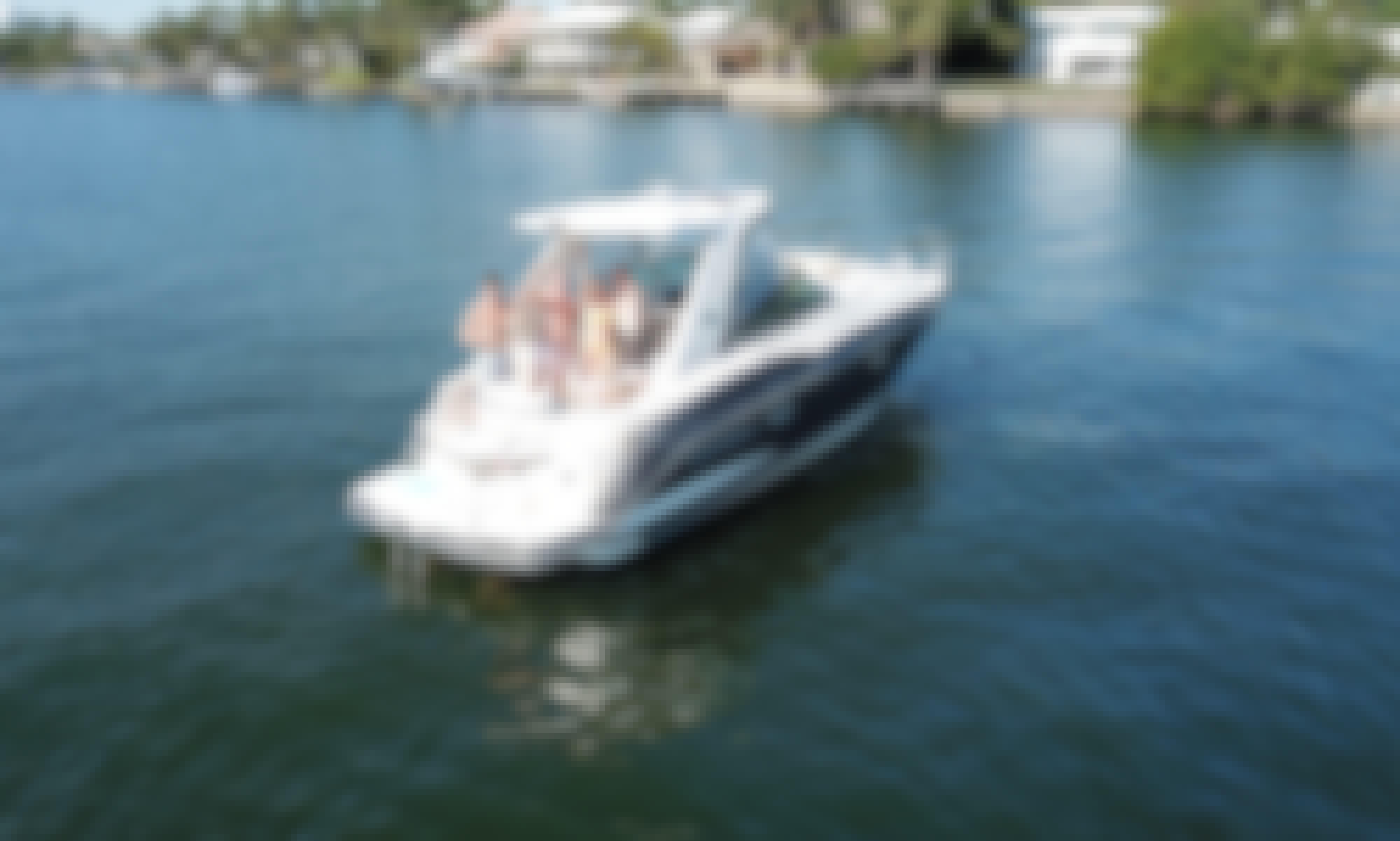 32' Monterey Sport Yacht in Sunny Isles Beach, Florida!
