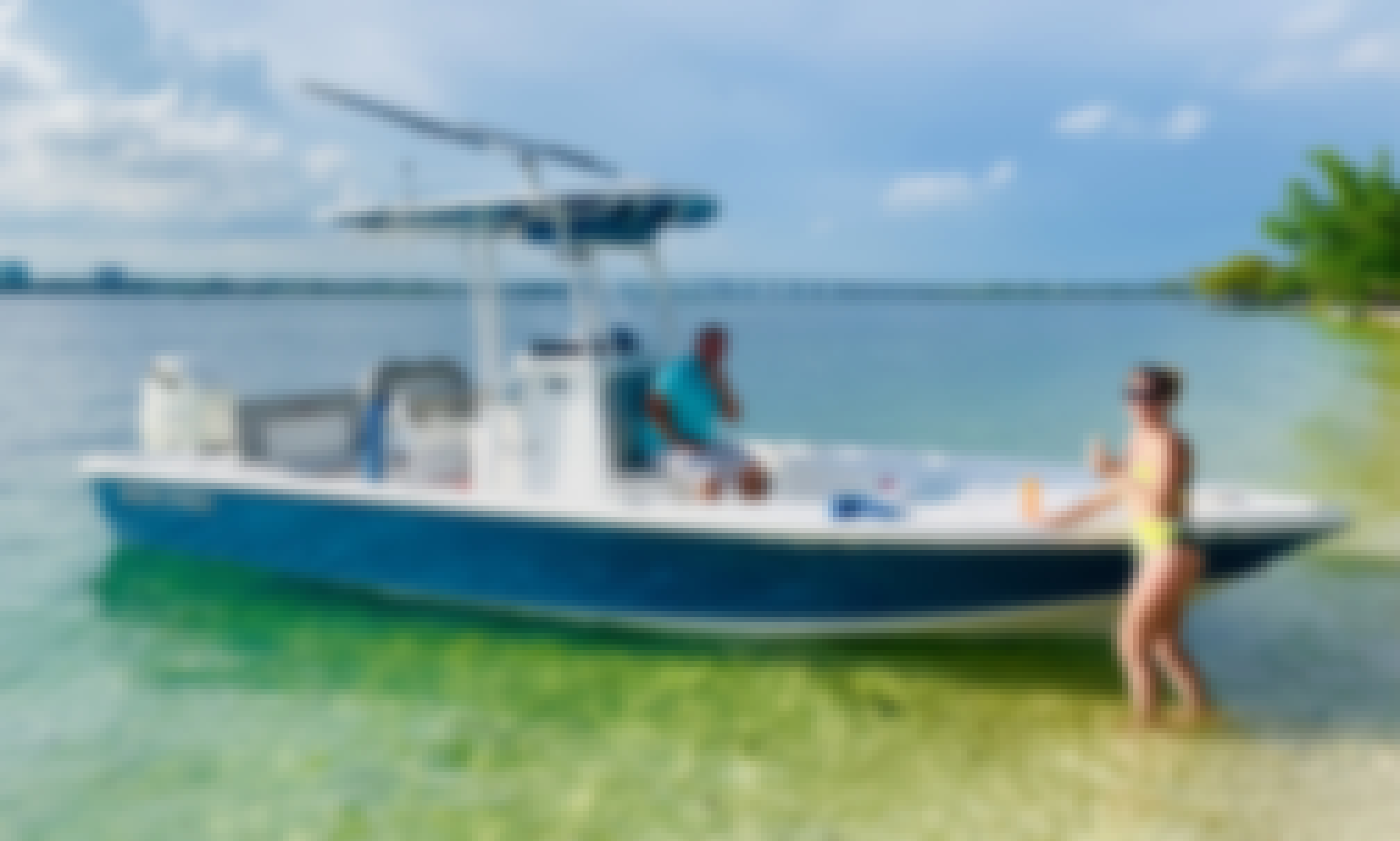 Sea Pro 248 Bay Boat Charters and Fishing Adventures in Miami, Florida