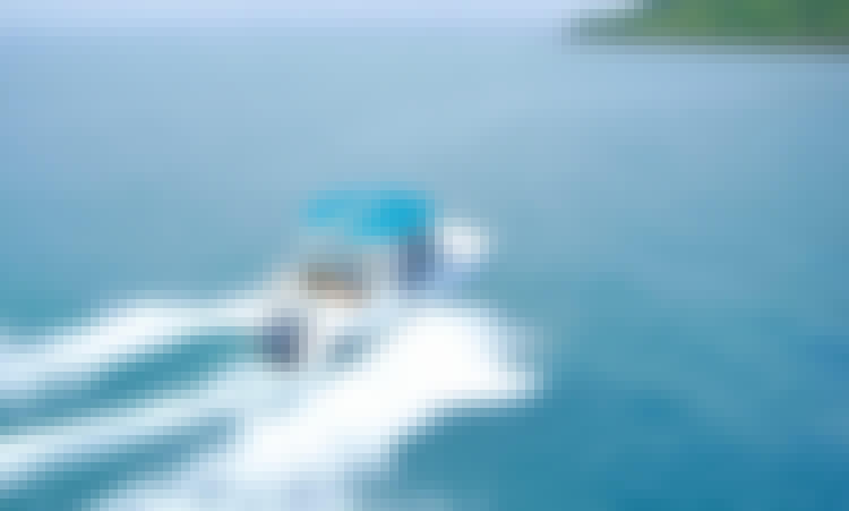 21' Aquamarine Center Console for Rent Pattaya, Thailand.