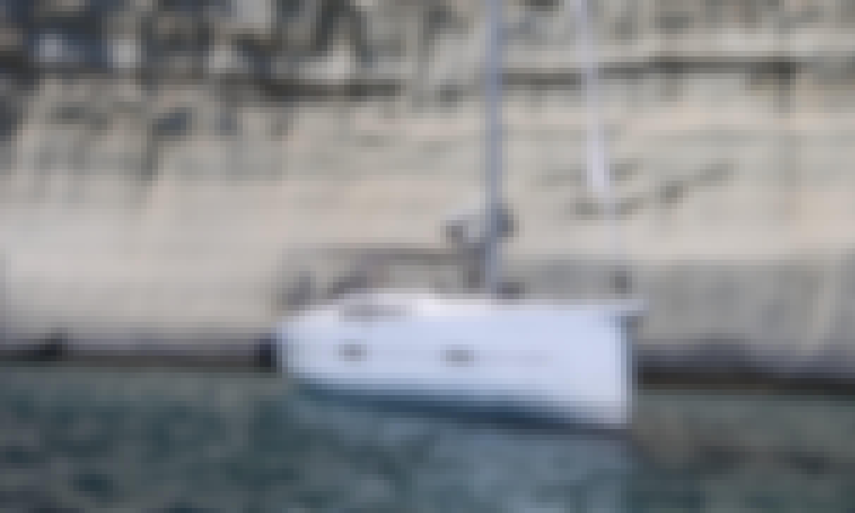 "Book the ""Elsa"" Dufour 460 Grand Large Cruising Monohull in Kontokali, Greece"