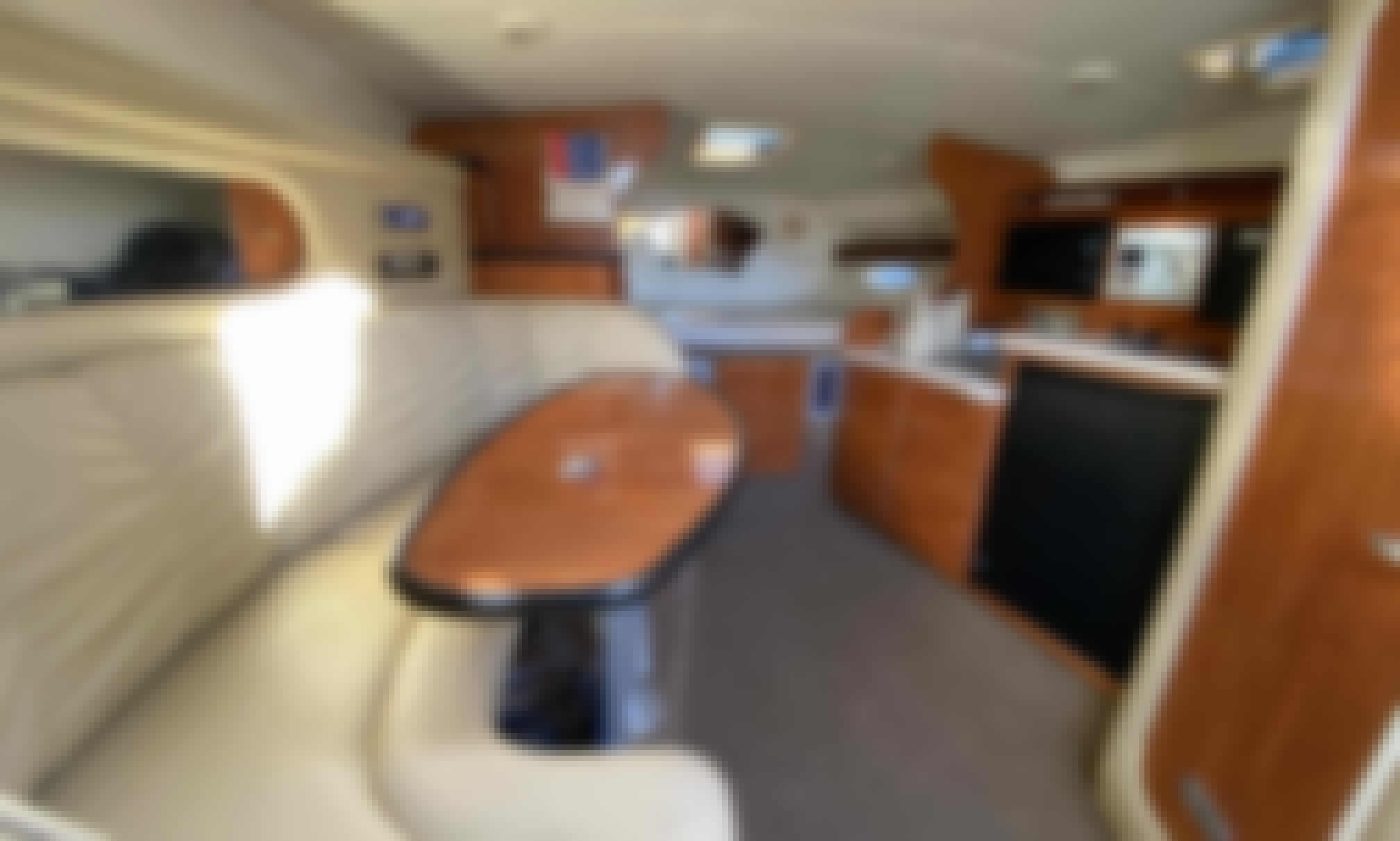 Cruiser Yacht Rinker's Fiesta Vee 360 Ready To Rent In Miami, Florida