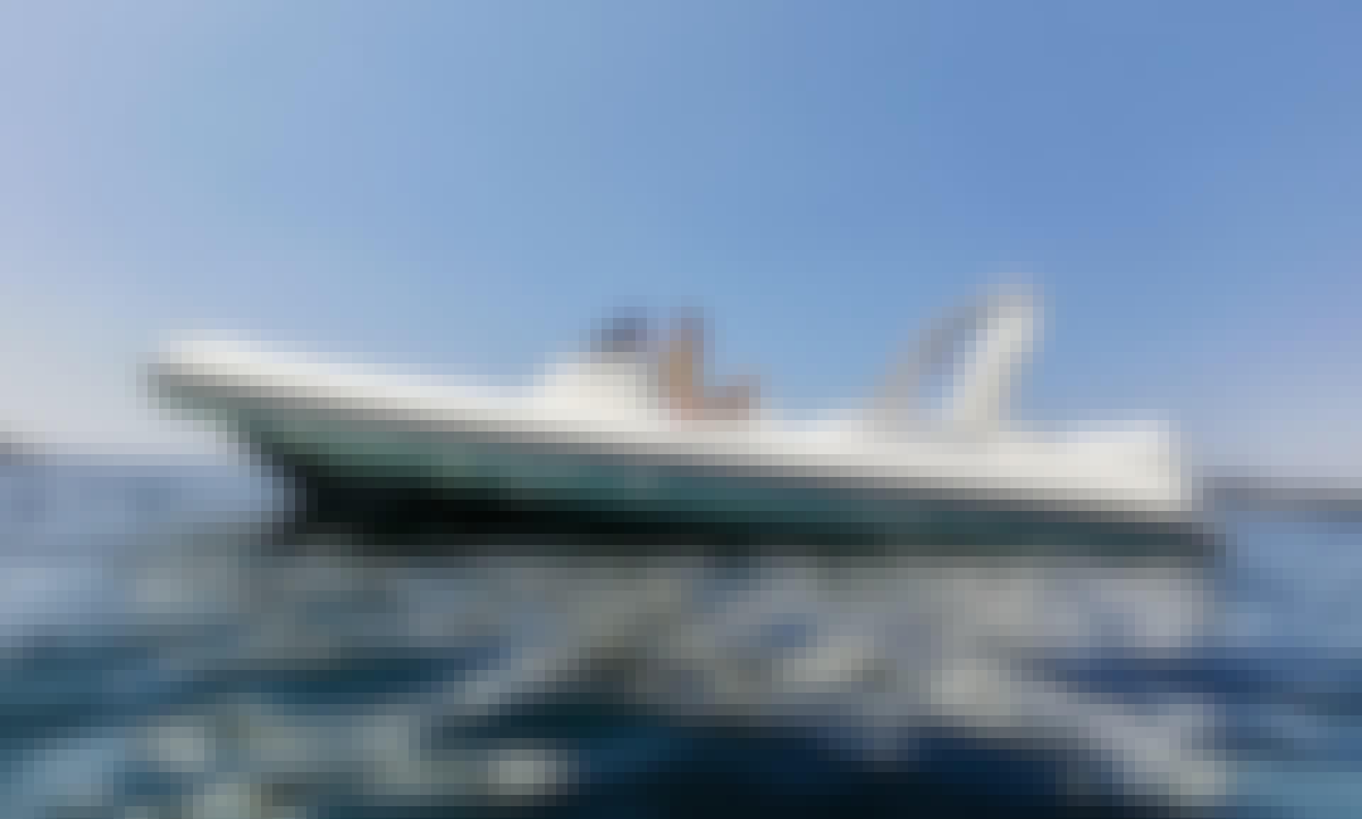 Drive a Joker Boat Clubman 28 with Twin 250 hp Motor in Sukošan, Zadar