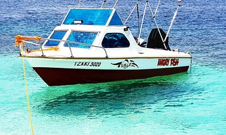 **Angry Fish** Speedboat for Rent in Dar es Salaam, Tanzania