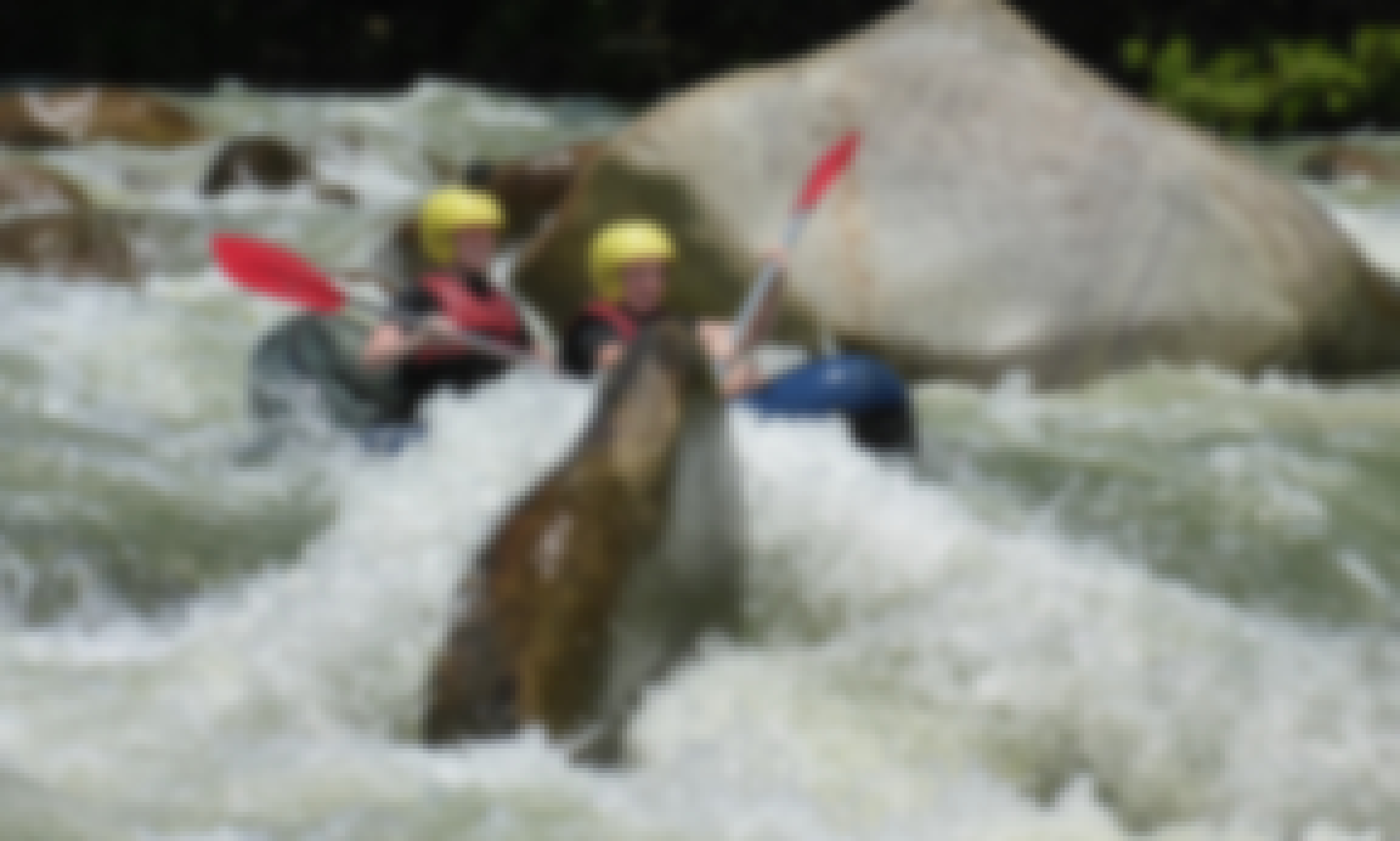White Water Sports Rafting In Mission Beach