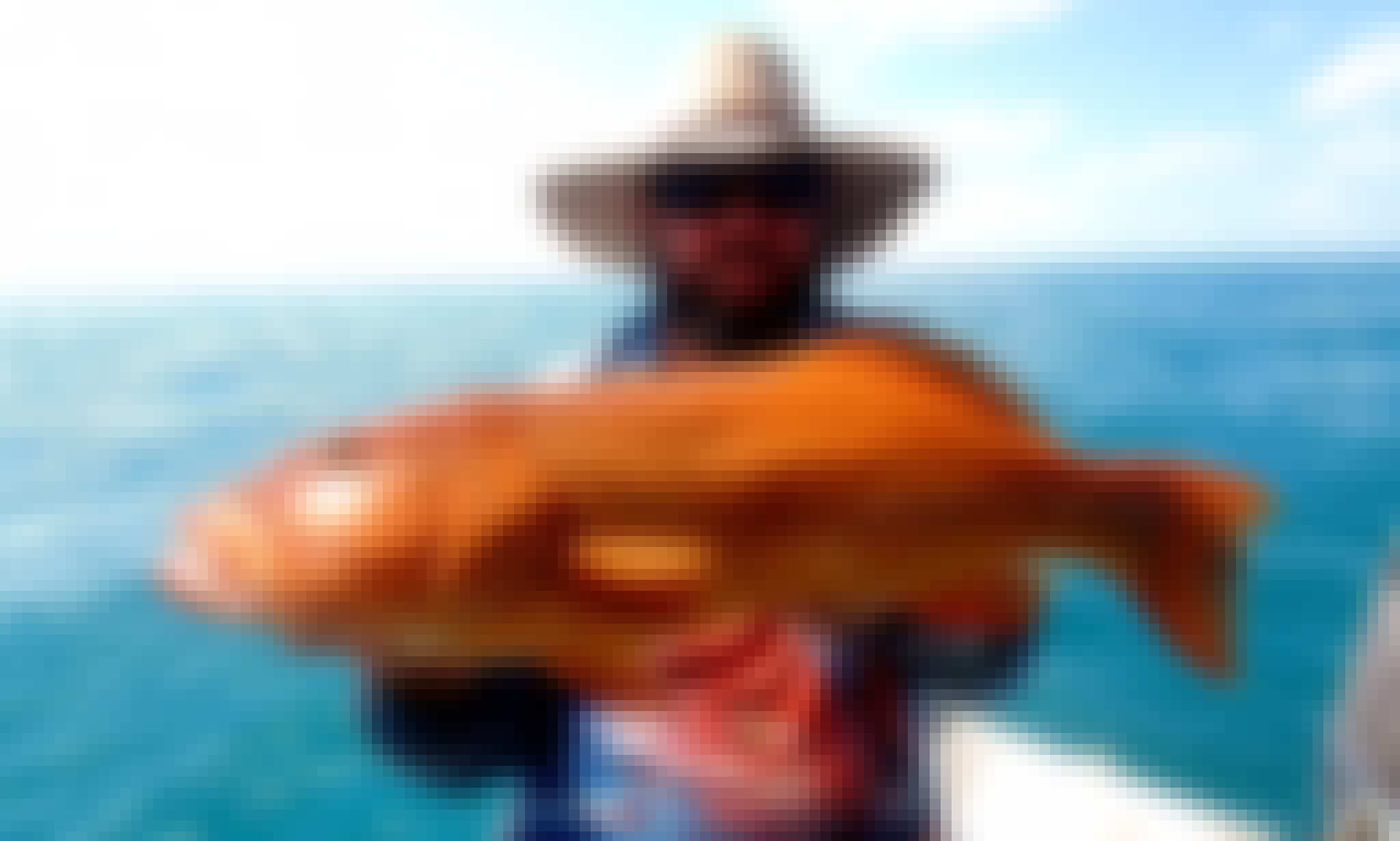 Darwin Offshore Fishing Charters - 7.5m Stabicraft w/ 300hp Yamaha outboard available for charter