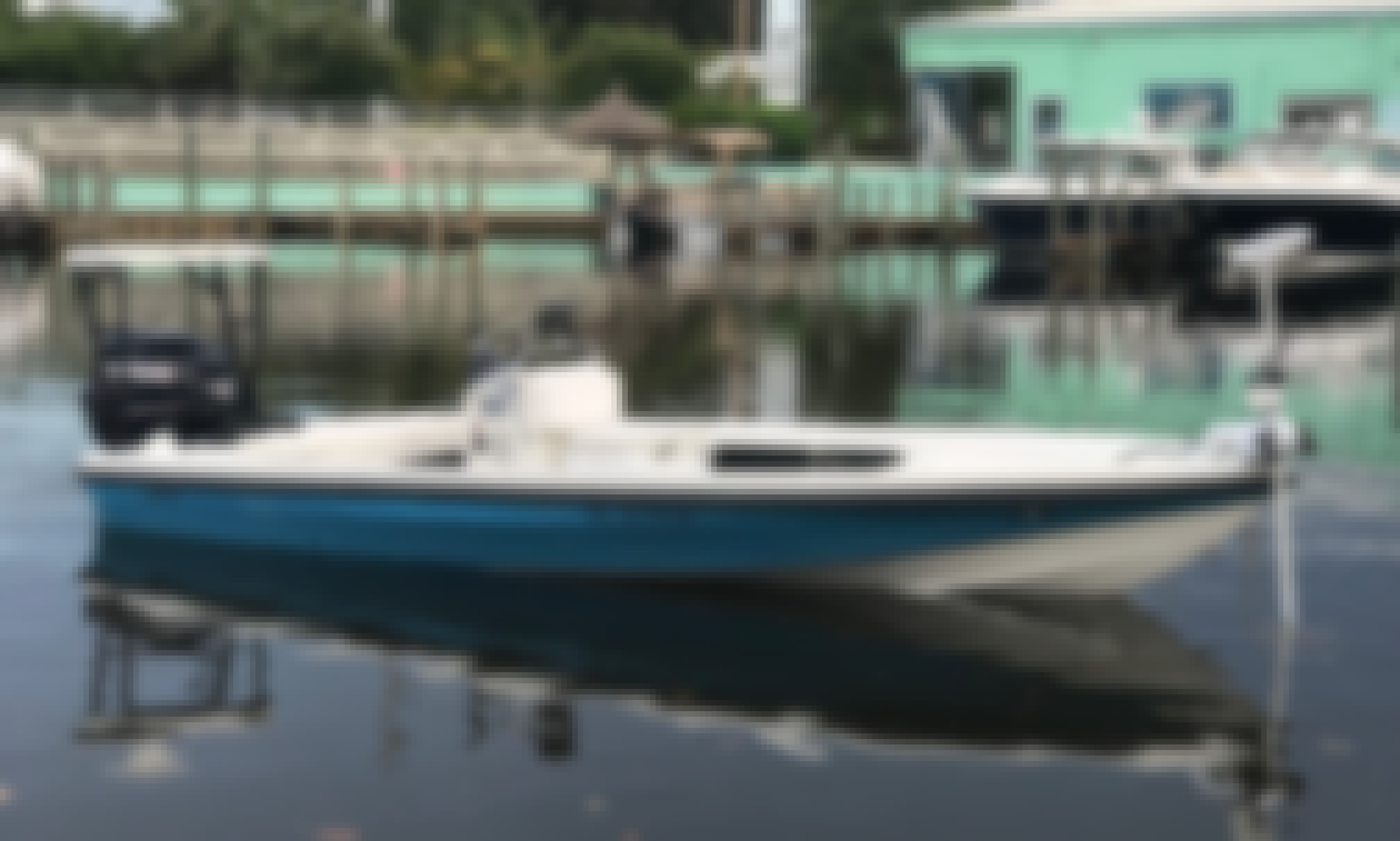 18' Dolphin Backcountry Pro Skiff Rental in Jensen Beach, Florida