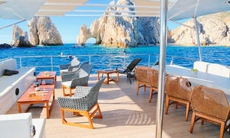 NEW VIP Catamaran Tour in Cabo San Lucas, Mexico : captain + fuel + handeck included in quote..