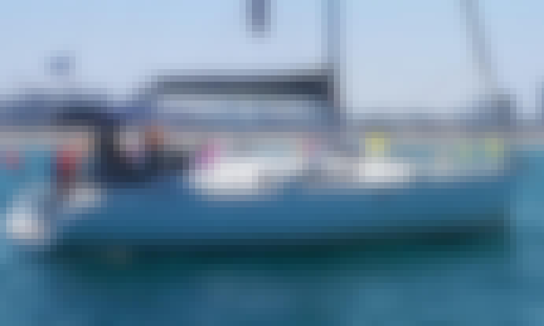 Romantic sailing