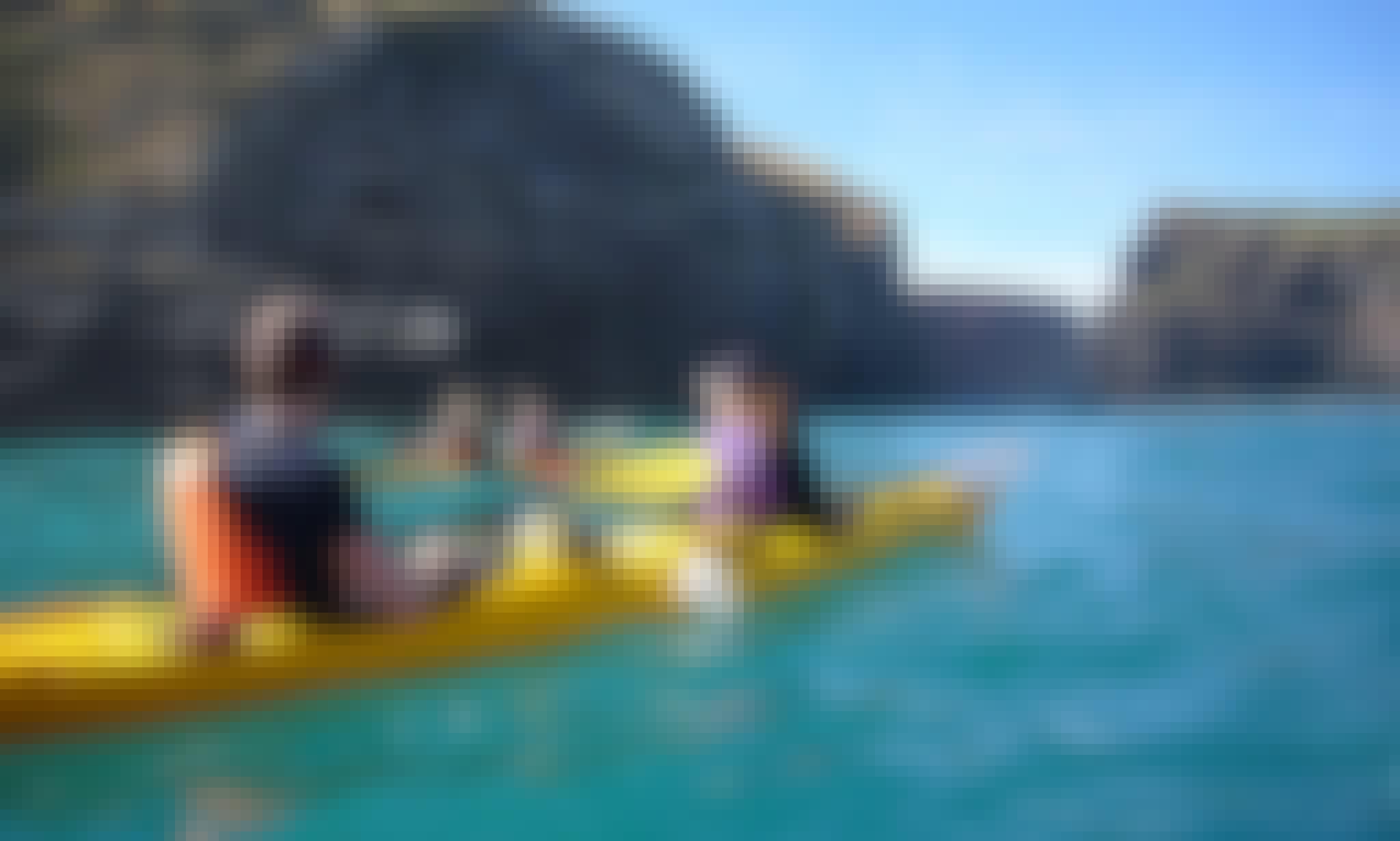 Sea Kayaking Tour in Akaroa, New Zealand