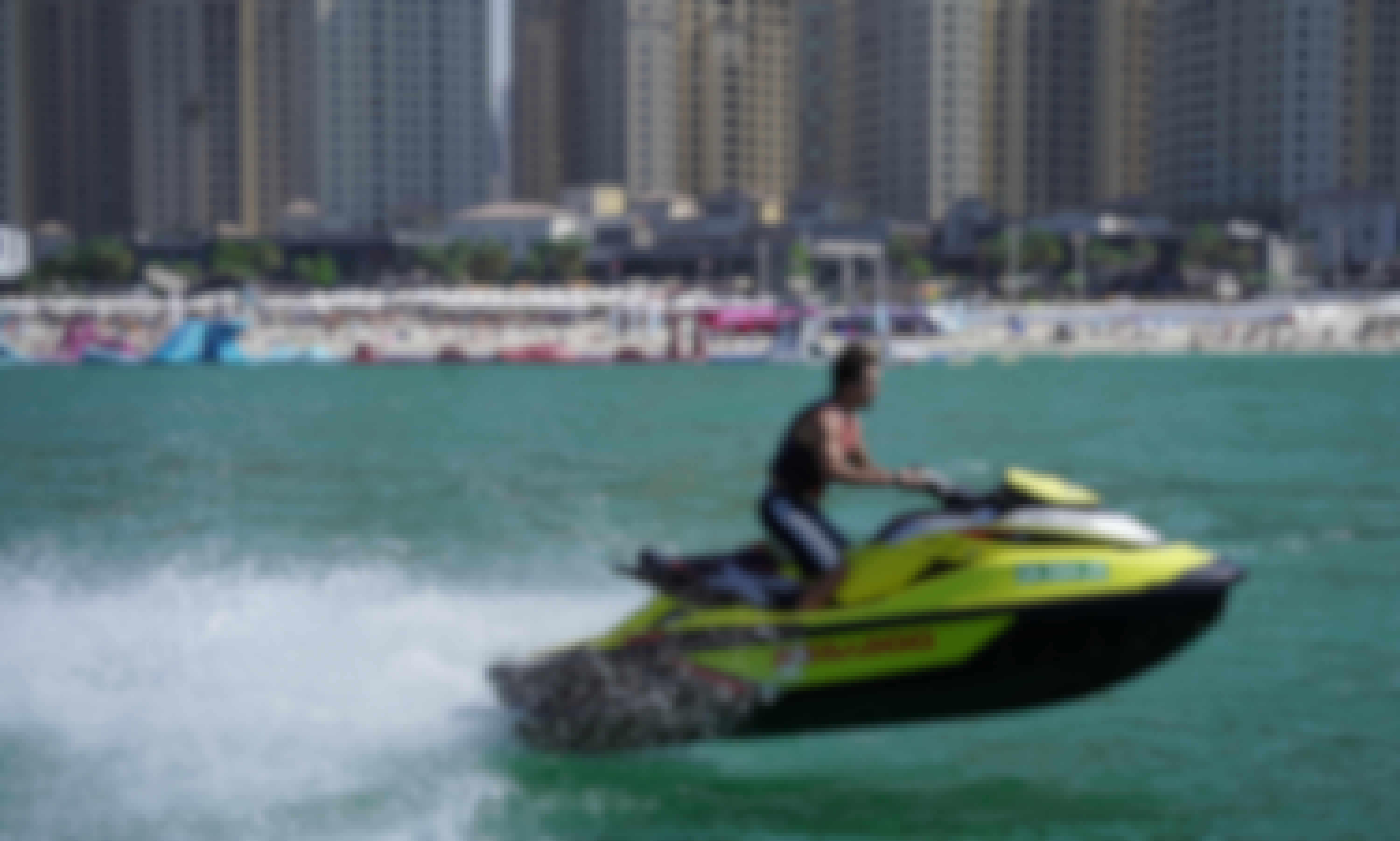 Conquer the Waves Aboard a SEADOO GTR 230 Jet Ski in Dubai, UAE