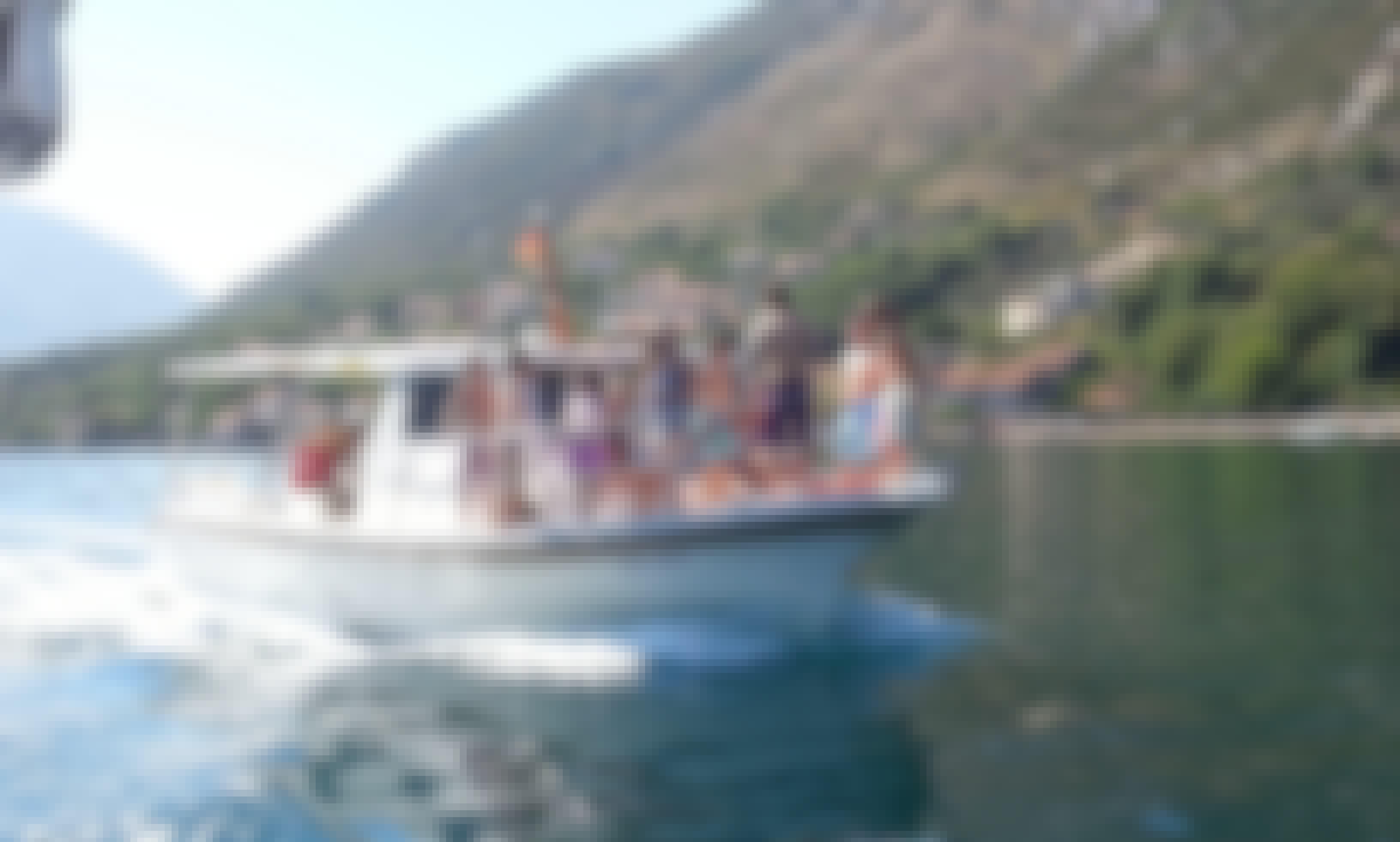 """39ft """"Mongibello 2"""" Polyester Passenger Trawler in Kotor, Opština Kotor"""