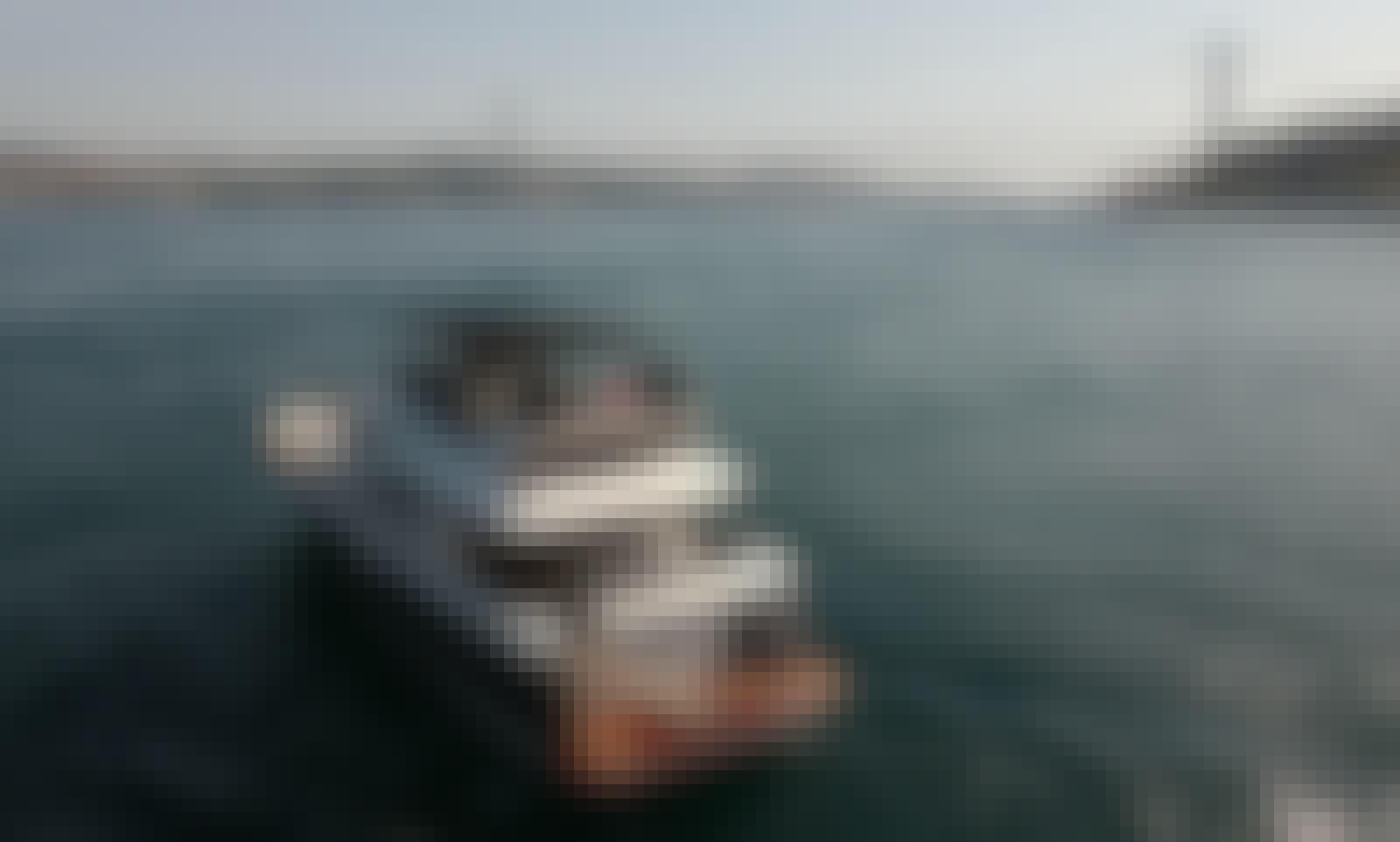 62' Power Mega Yacht Rental in Istanbul, Turkey