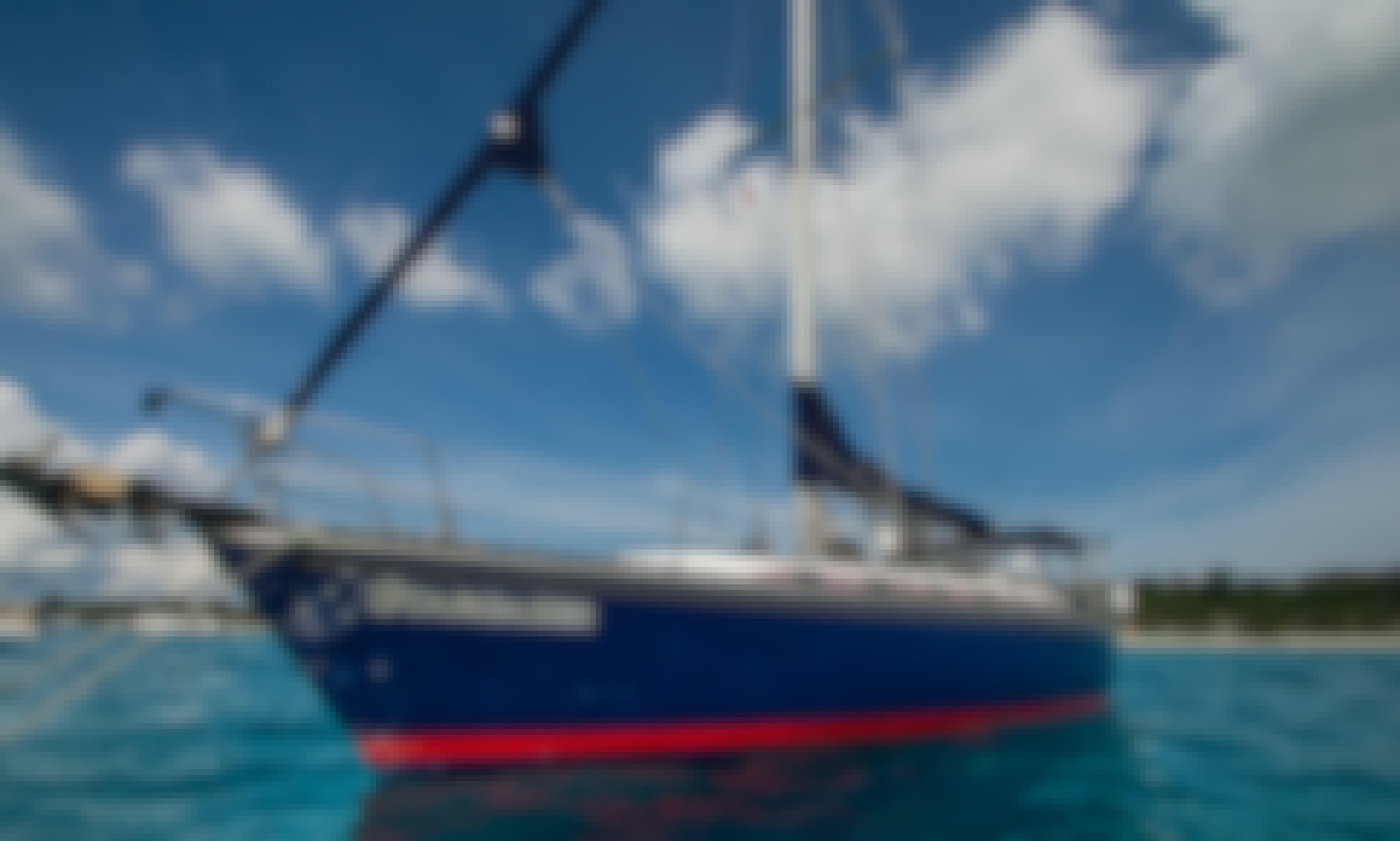 Modern 53 ft. Sailboat Rental in Coron, Palawan