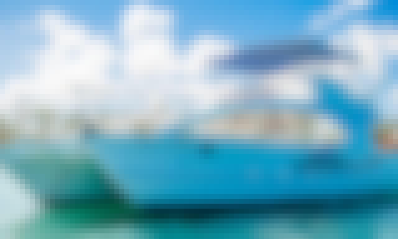55ft Power Catamaran Rental in Punta Cana, La Altagracia