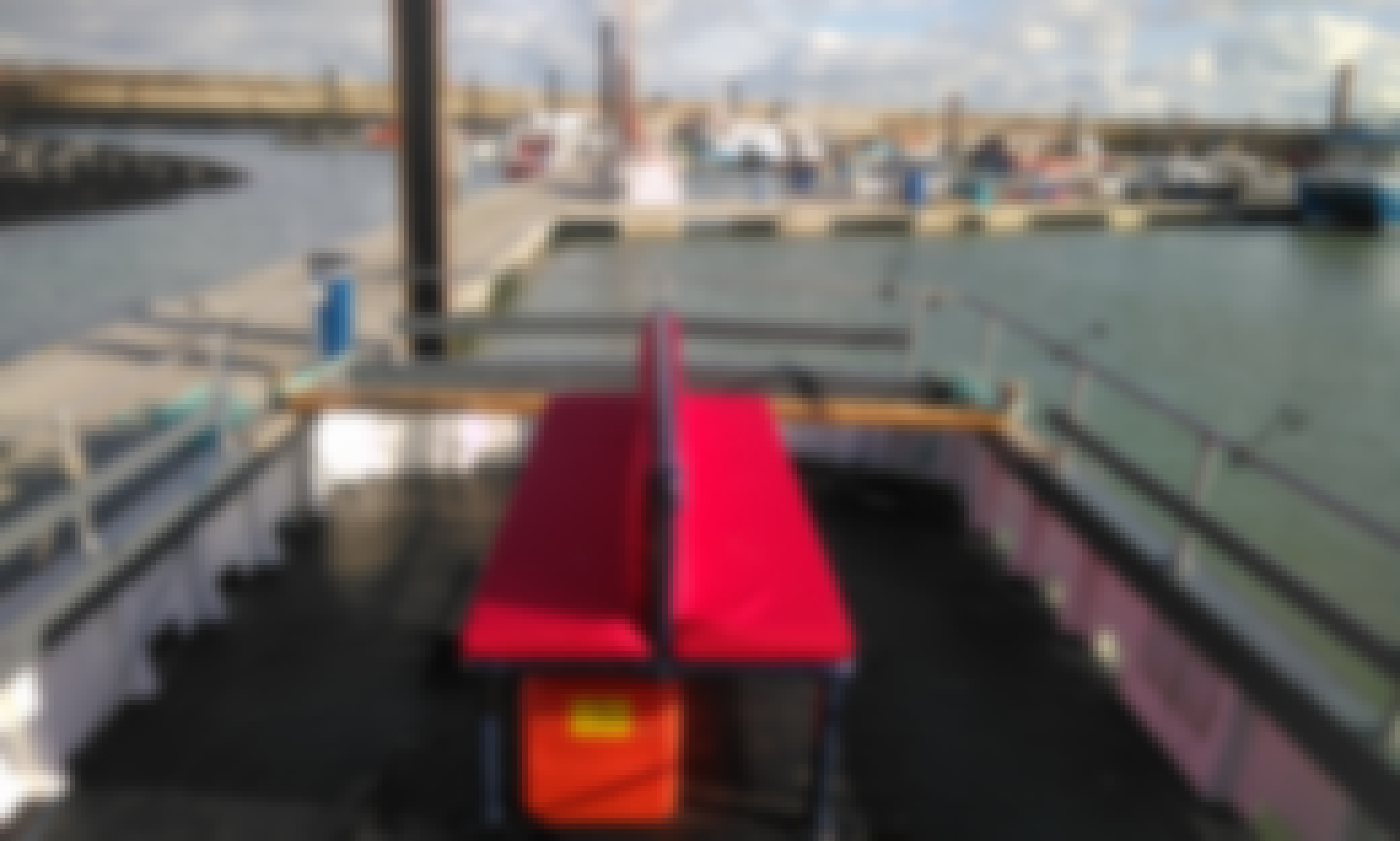 Fishing Charter On 35' Suffolk Trawler In England