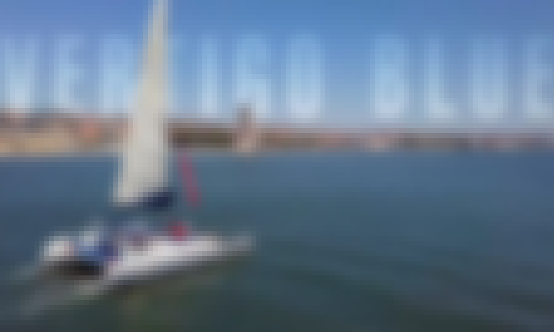Sailing Catamaran in Private for 18 Guests in Lisbon