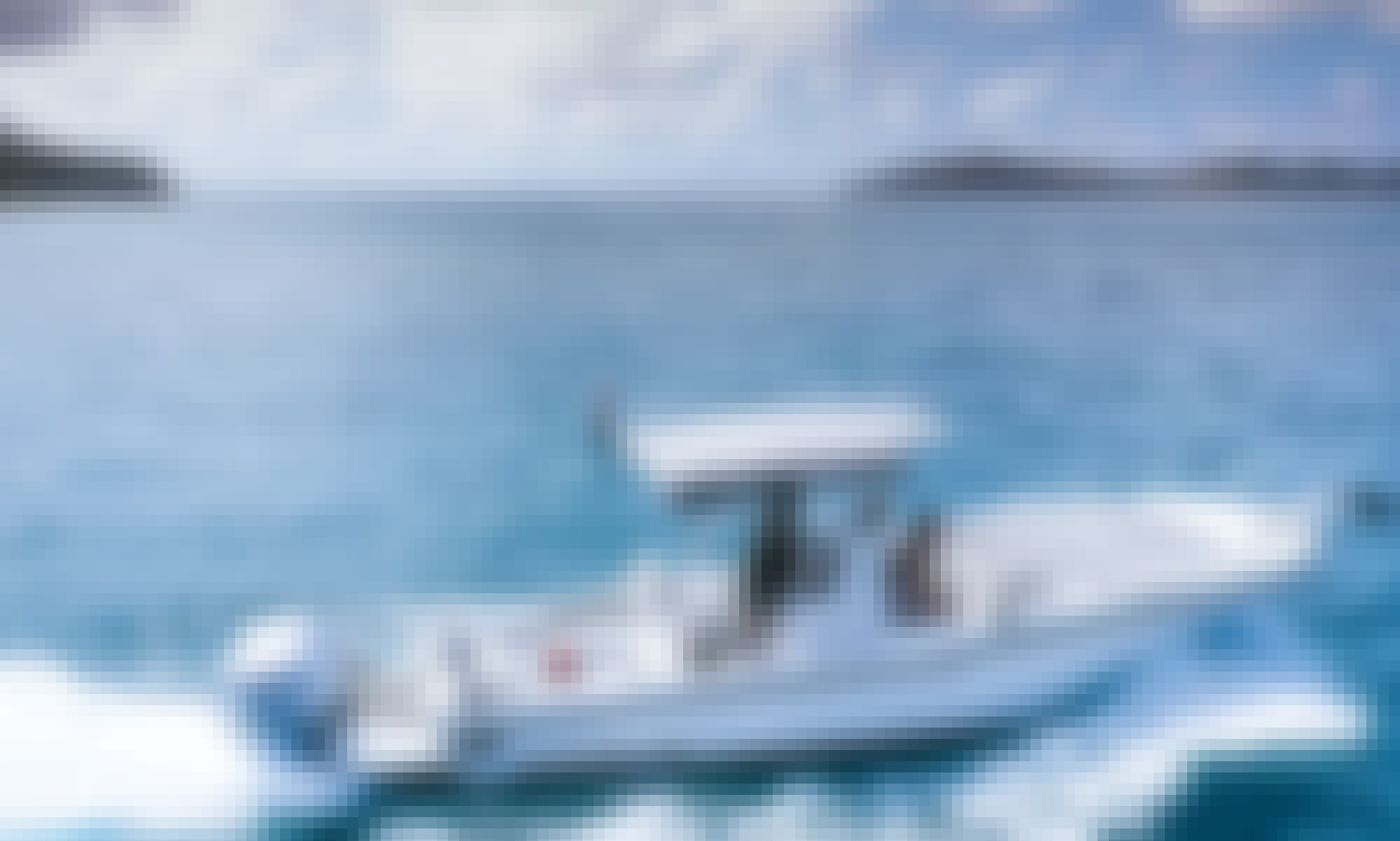 """Private Day Trips on 26' """"Irie"""" Dusky Technicraft Boat in Tortola, British Virgin Islands"""
